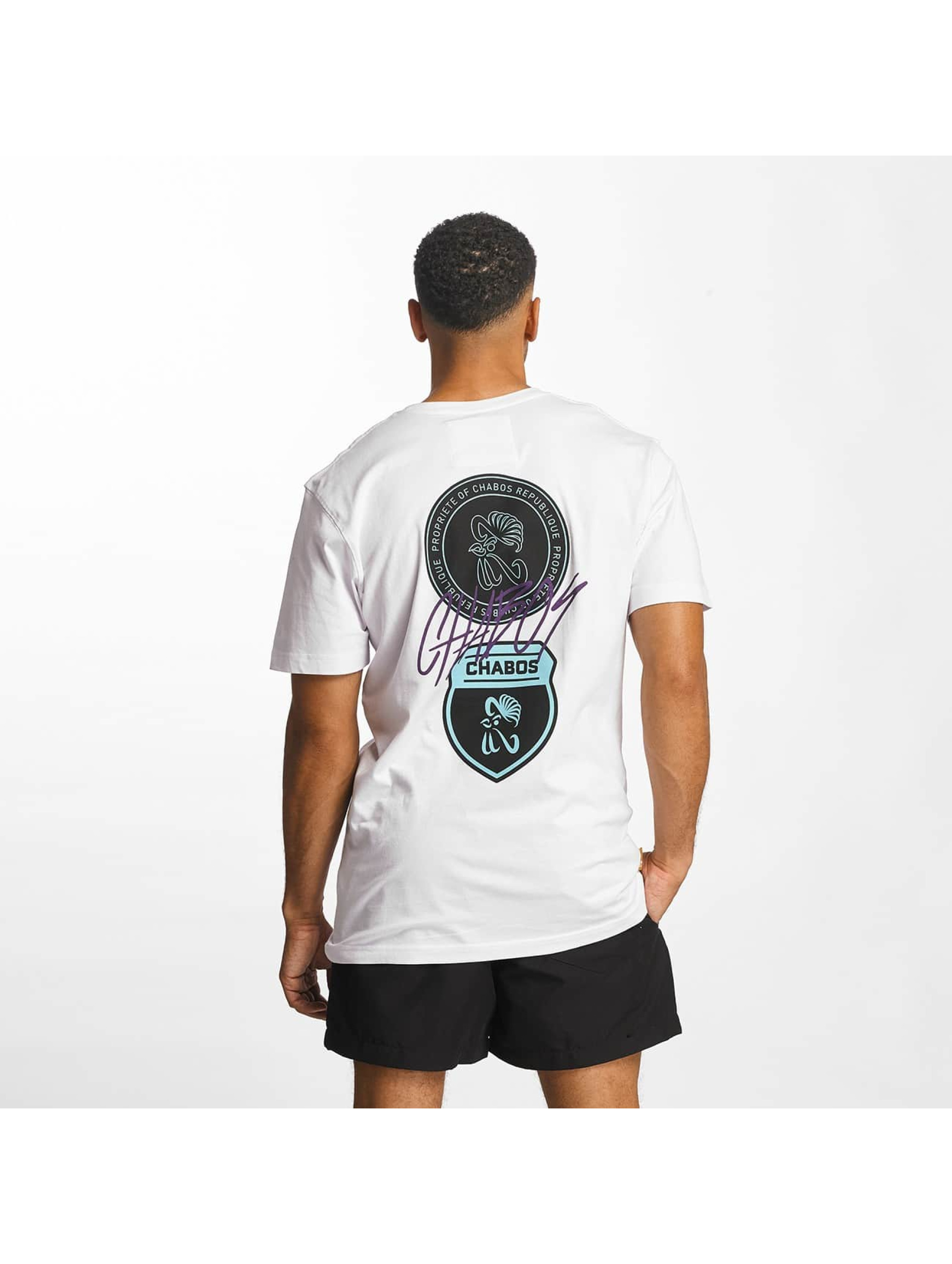 CHABOS IIVII T-Shirt College blanc