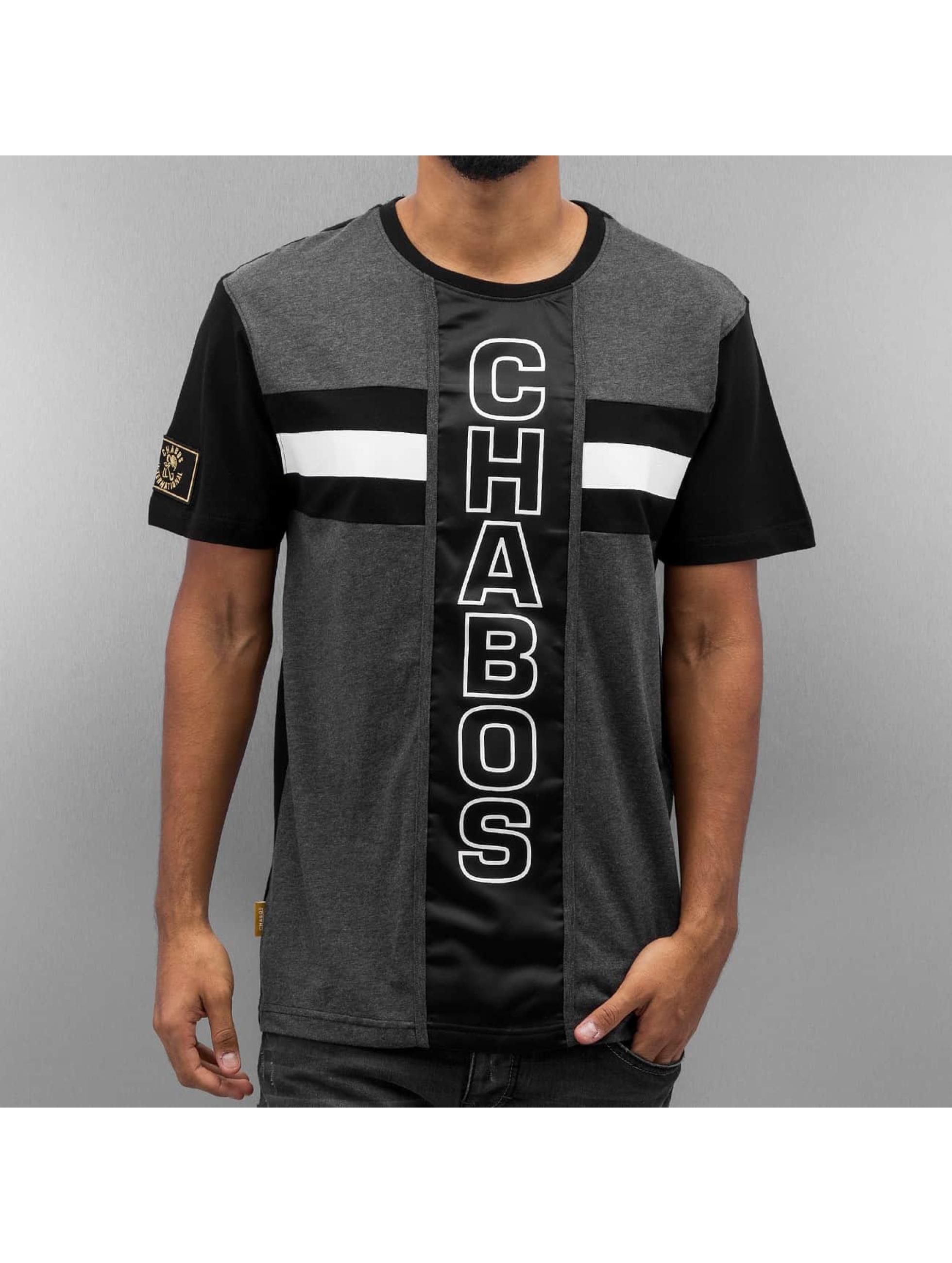 CHABOS IIVII T-Shirt Vertical gris