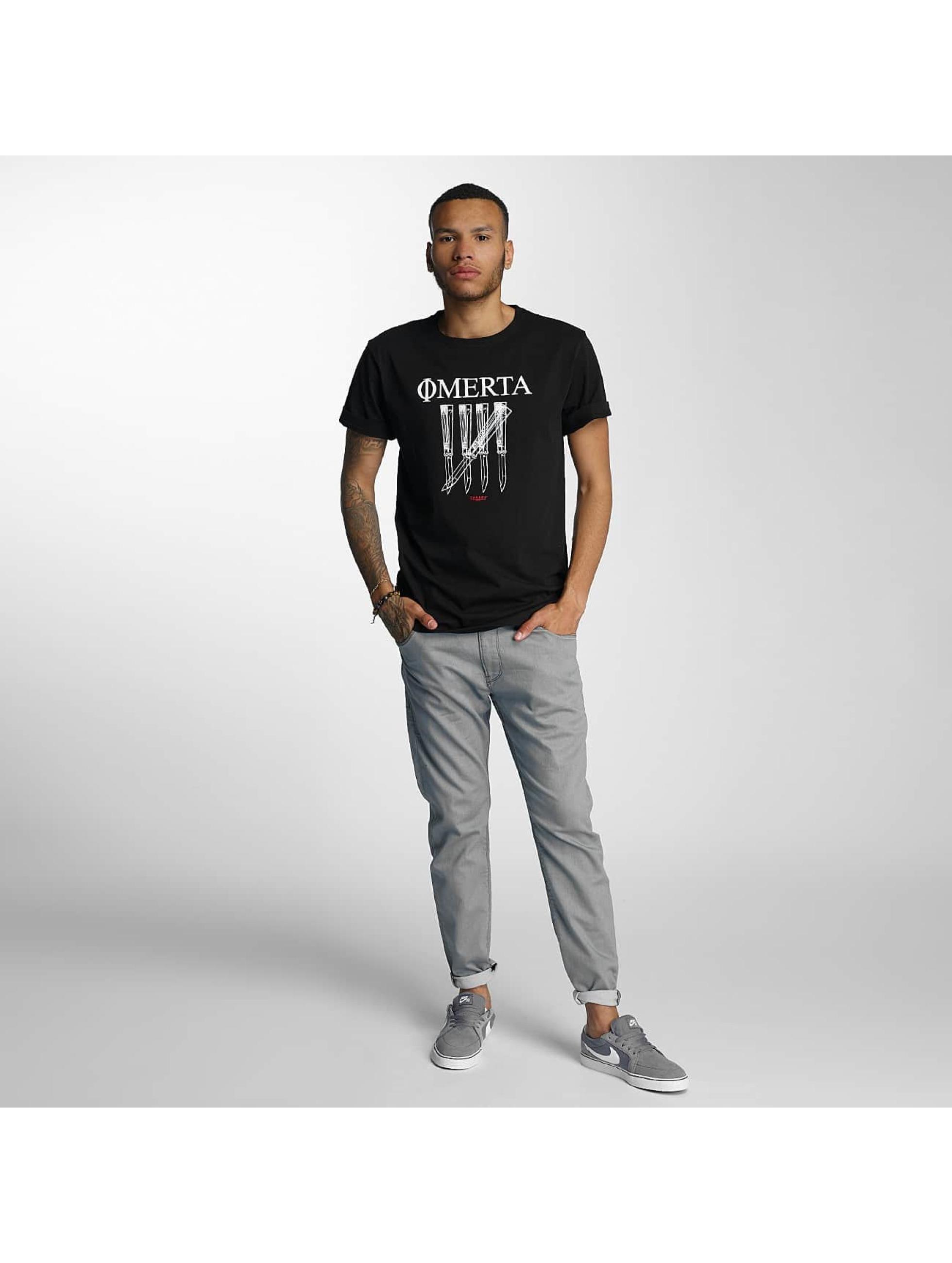 CHABOS IIVII T-Shirt Omerta noir