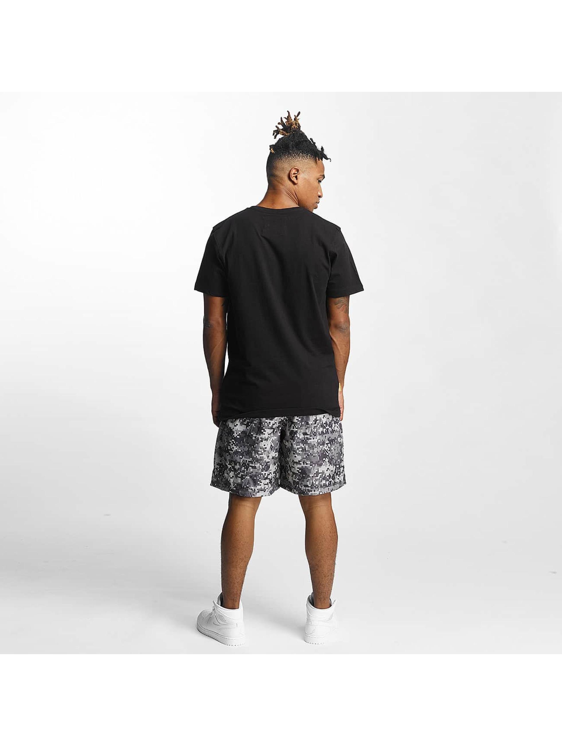 CHABOS IIVII T-Shirt Camo Palazzo schwarz