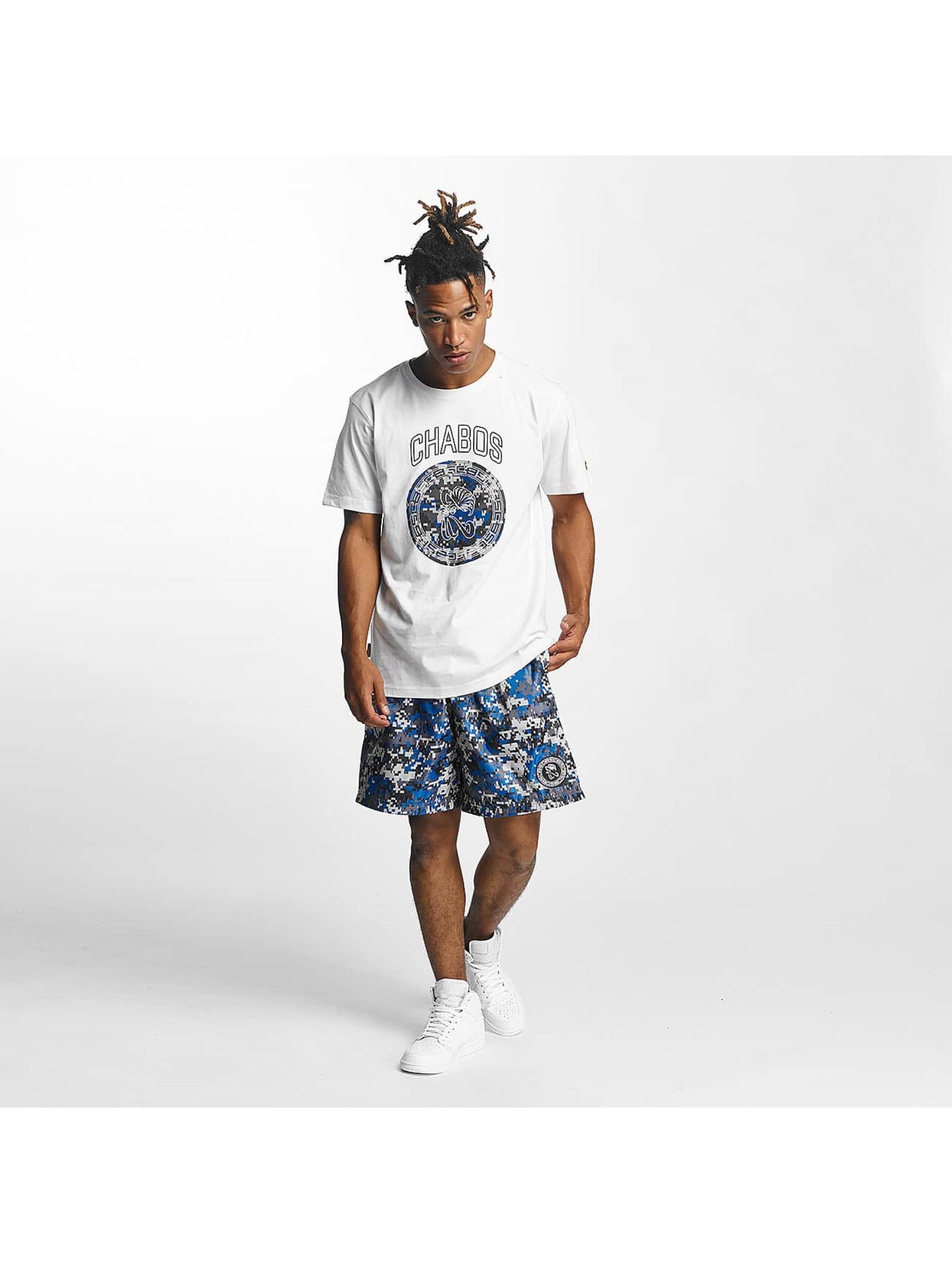 CHABOS IIVII T-Shirt Camo Palazzo weiß