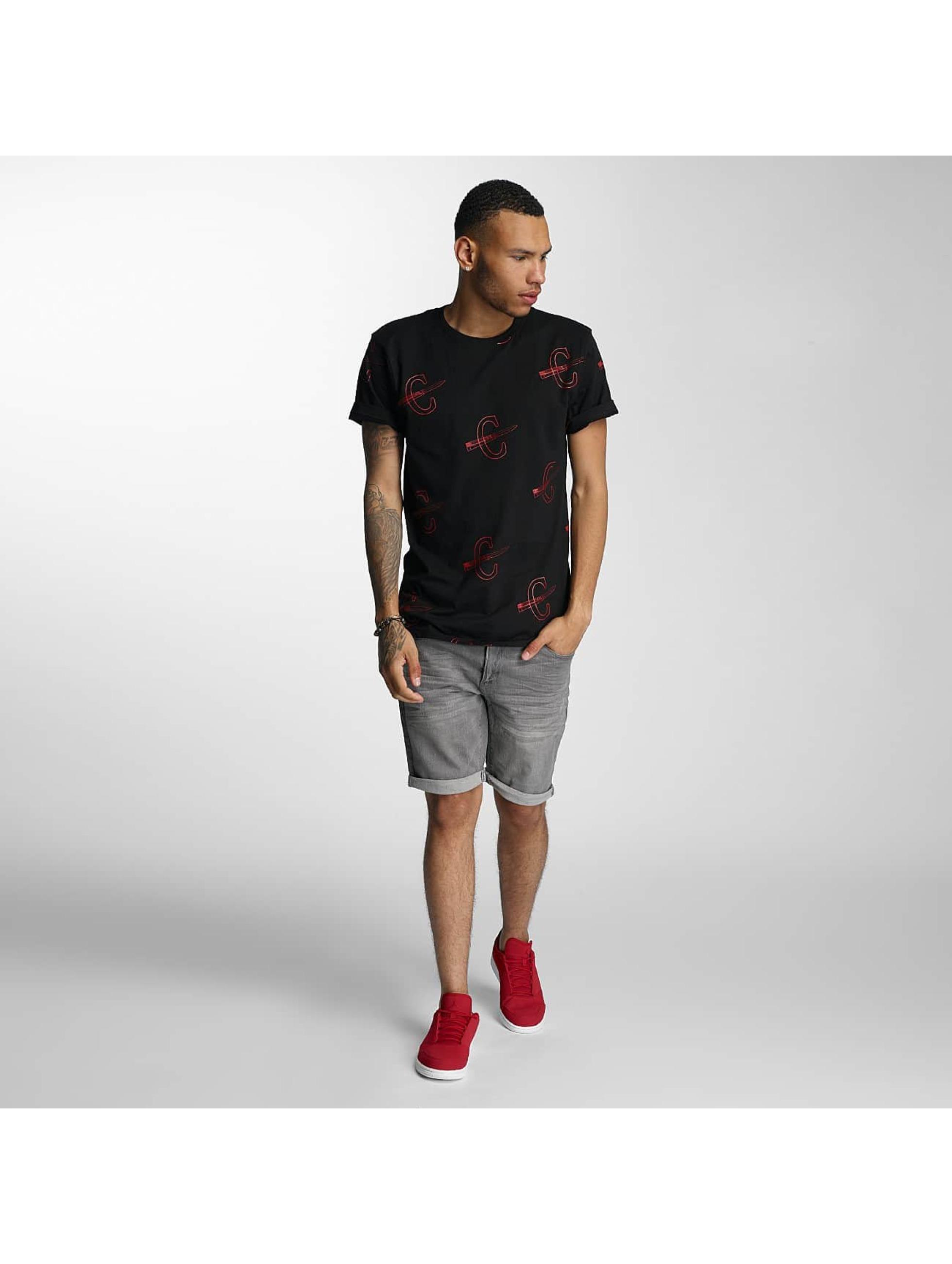 CHABOS IIVII t-shirt Cheuro zwart