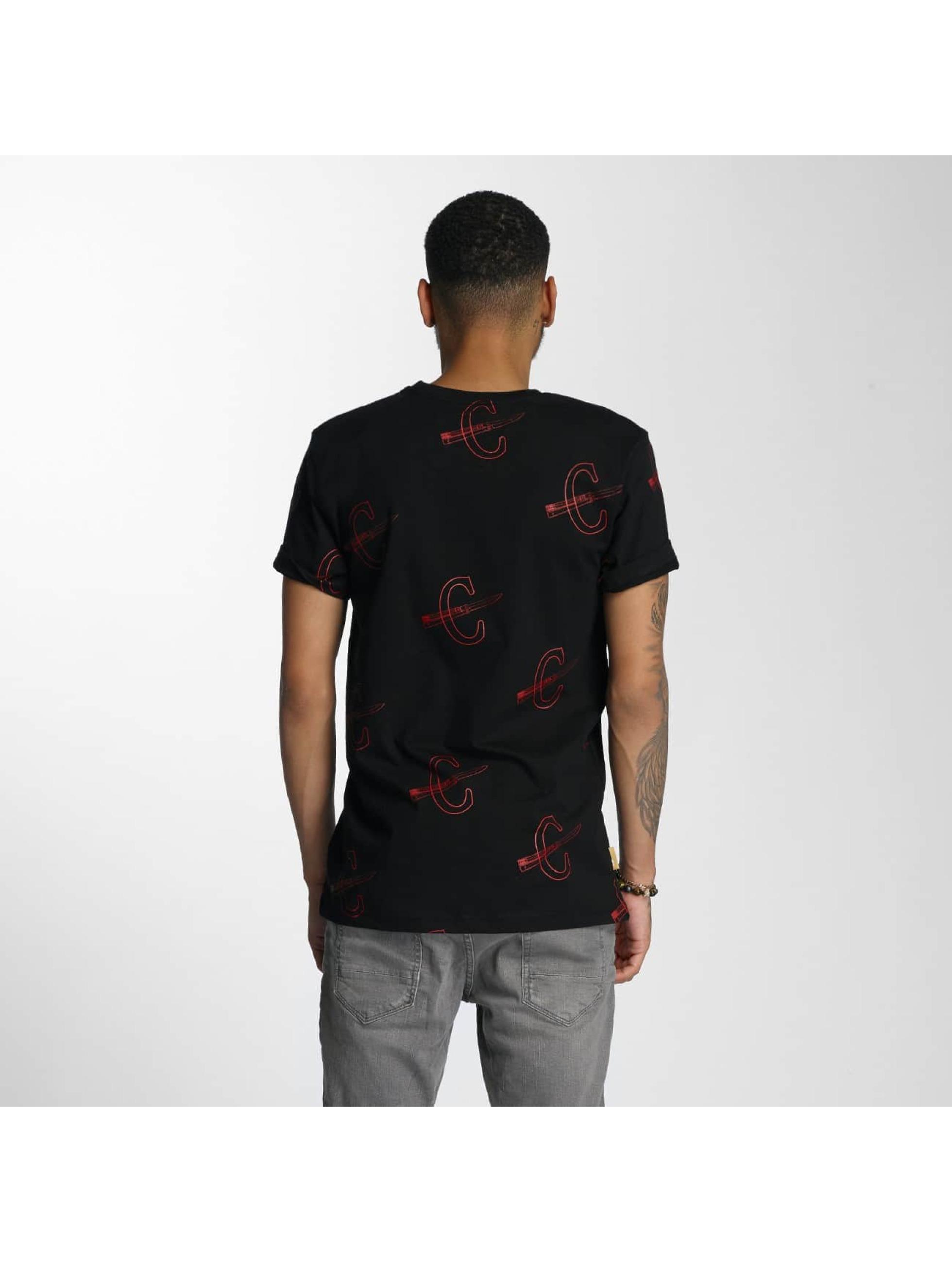 CHABOS IIVII T-Shirty Cheuro czarny