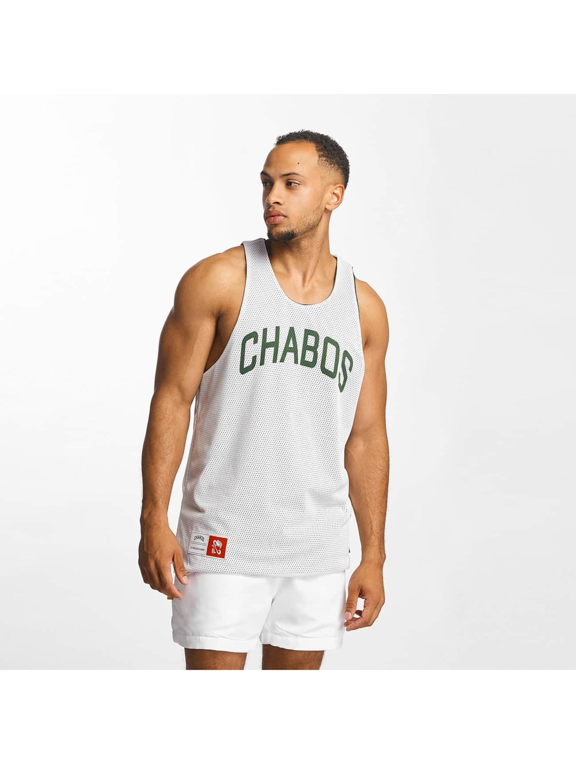 CHABOS IIVII Tank Tops Reversible Mesh Jersey vihreä