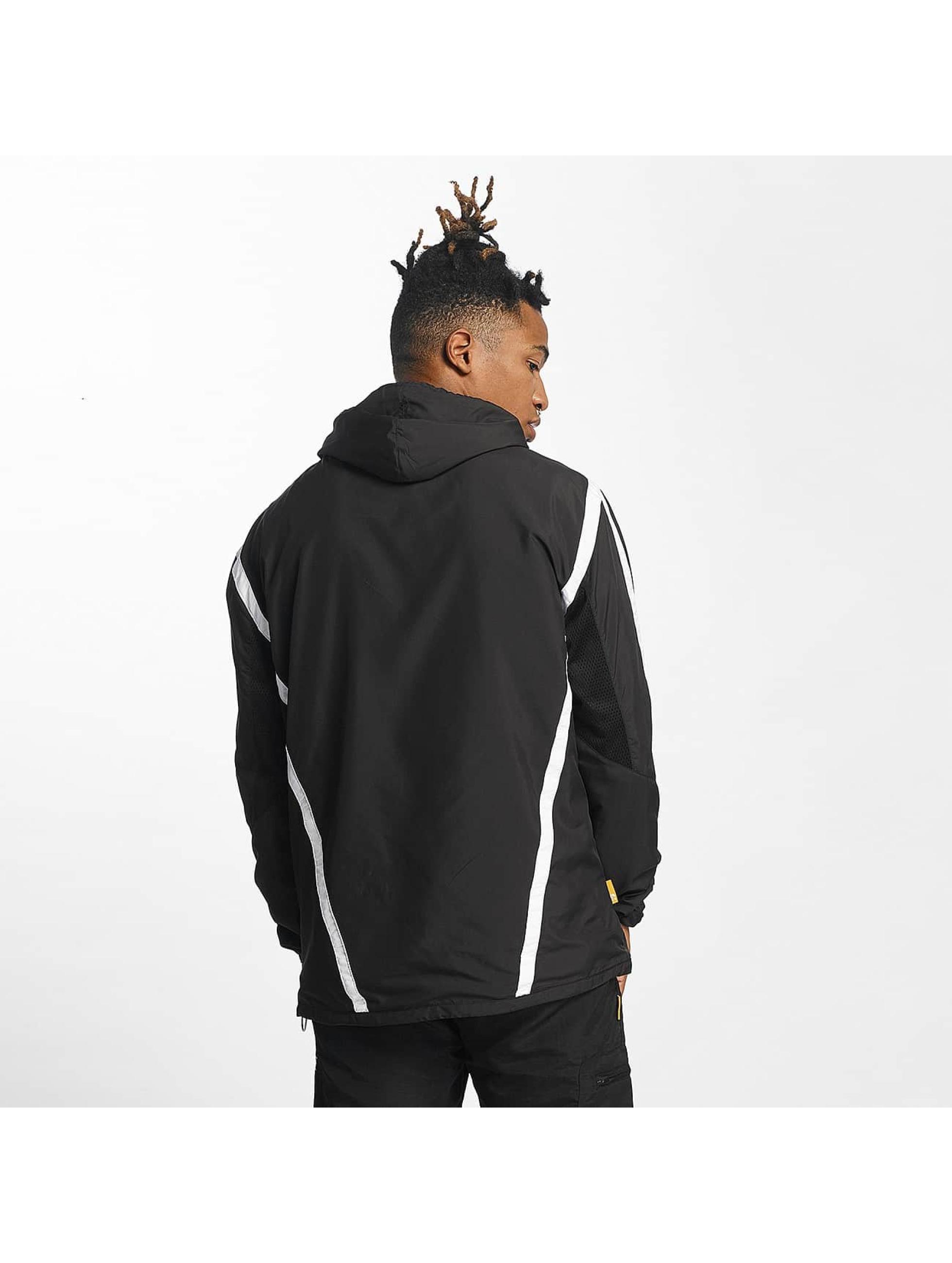CHABOS IIVII Transitional Jackets Half Zip Hooded svart