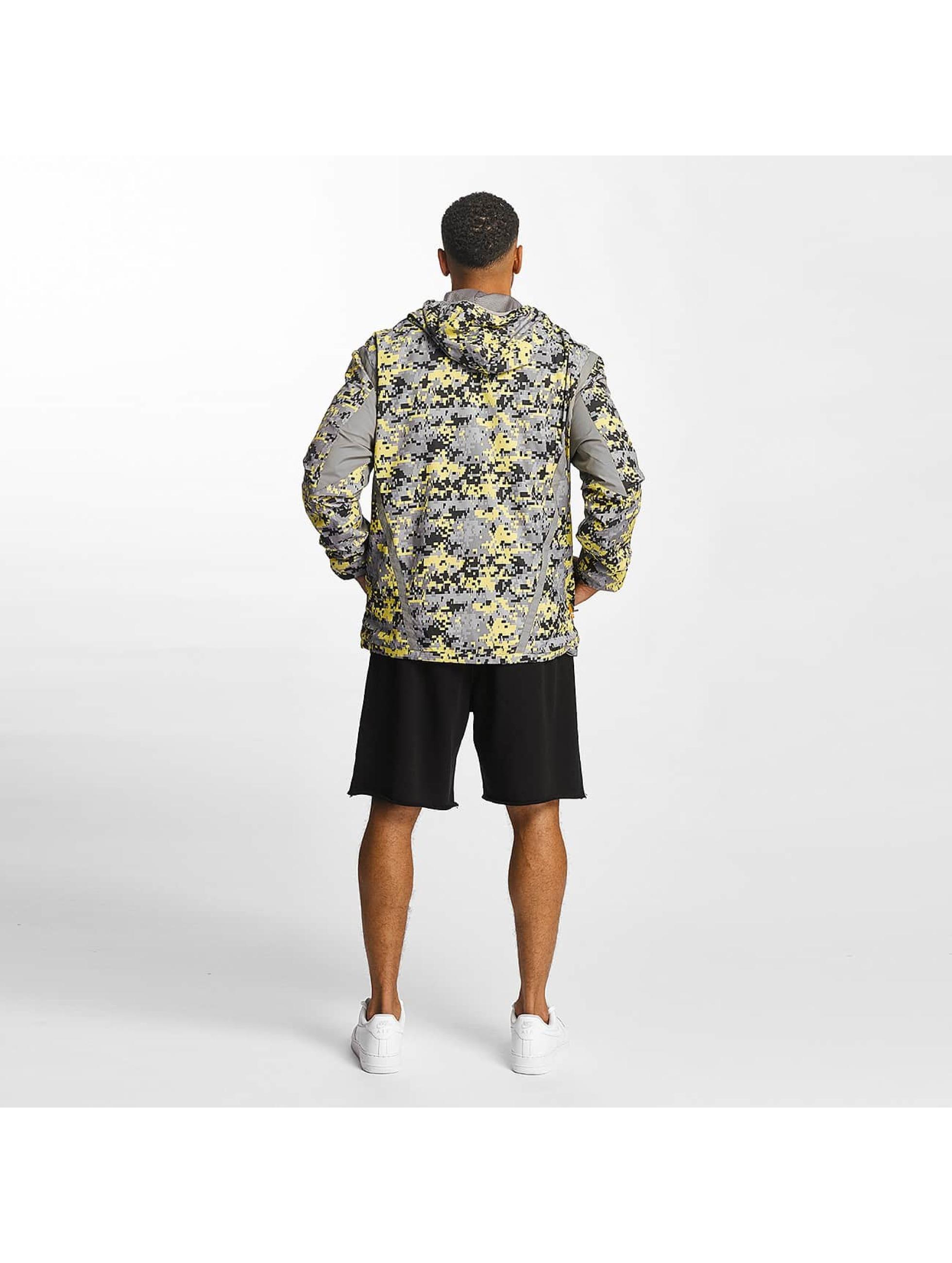 CHABOS IIVII Veste mi-saison légère Zip camouflage
