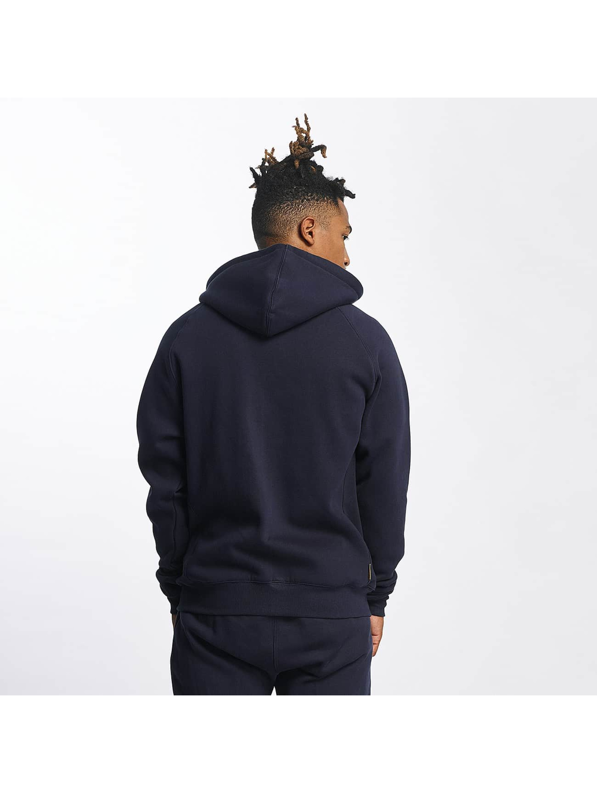 CHABOS IIVII Zip Hoodie Athletic Raglan Zipper modrá