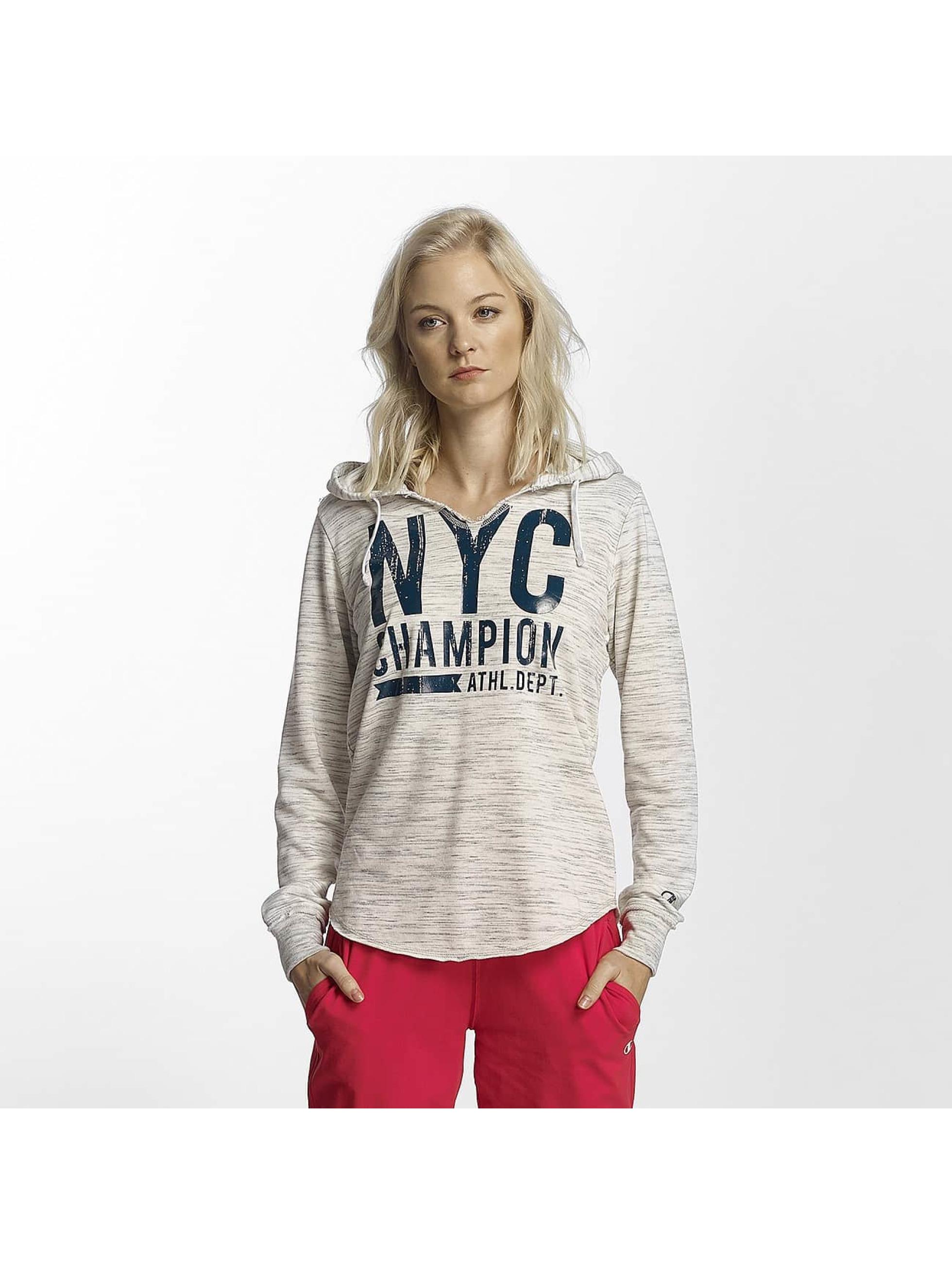 Champion Athletics Bluzy z kapturem Central Park bialy