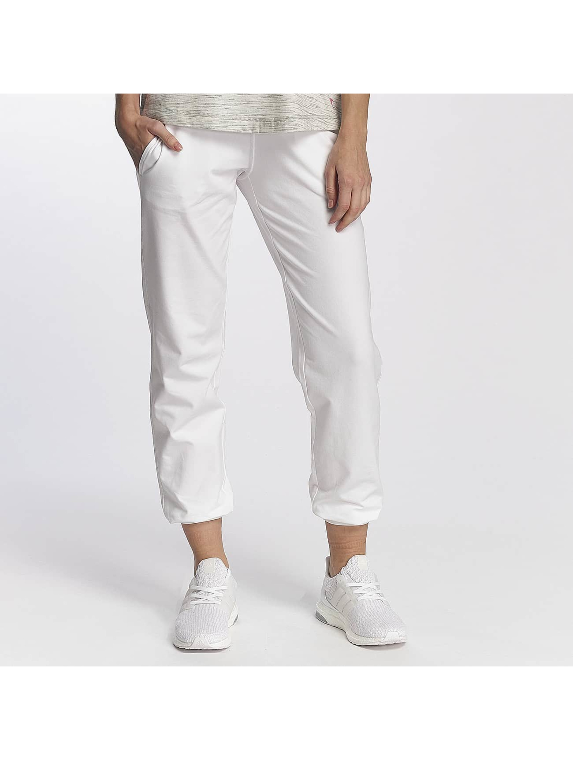 Champion Athletics Jogging Cuffed Sweatpants blanc