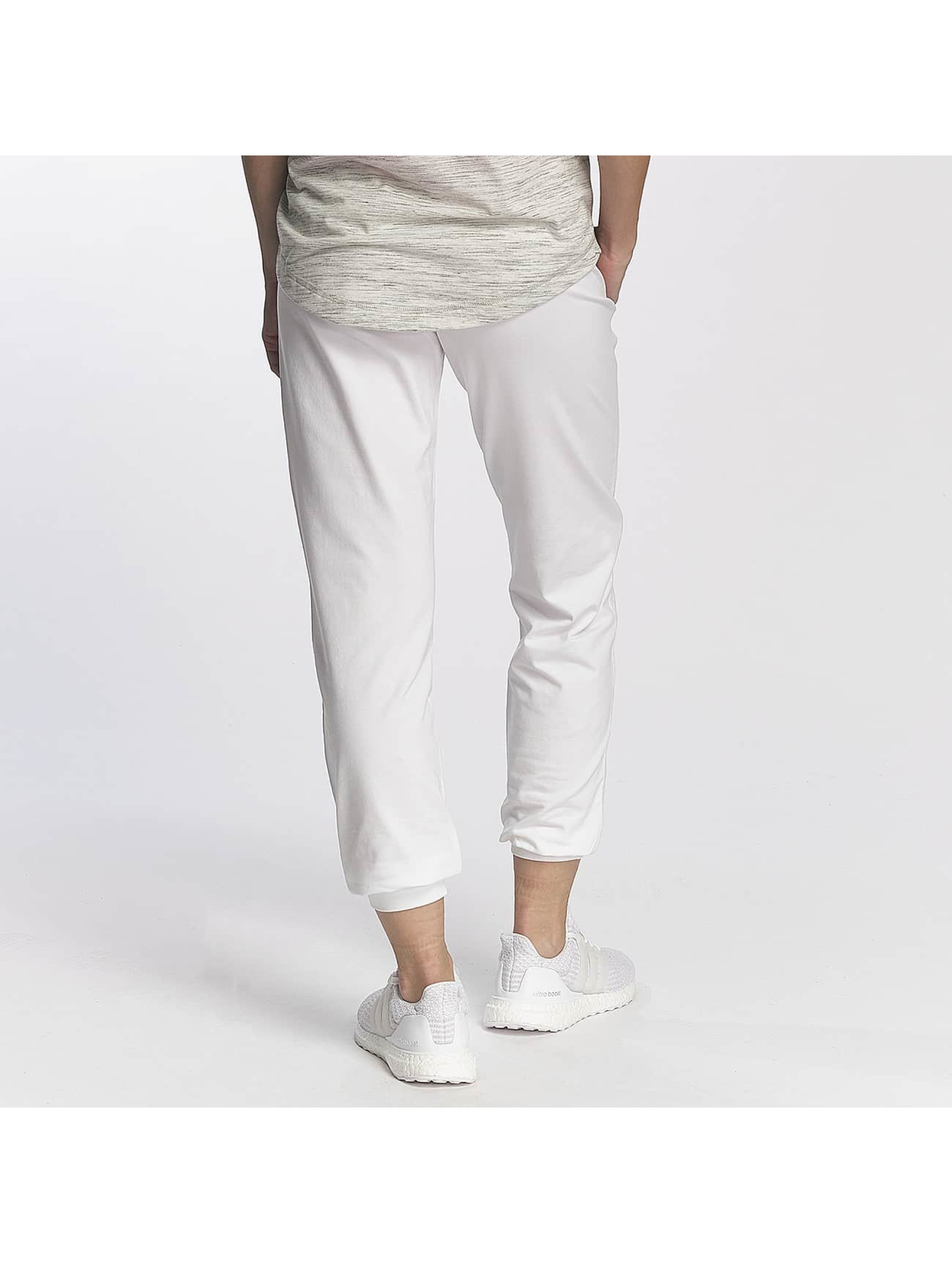 Champion Athletics Jogginghose Cuffed Sweatpants weiß