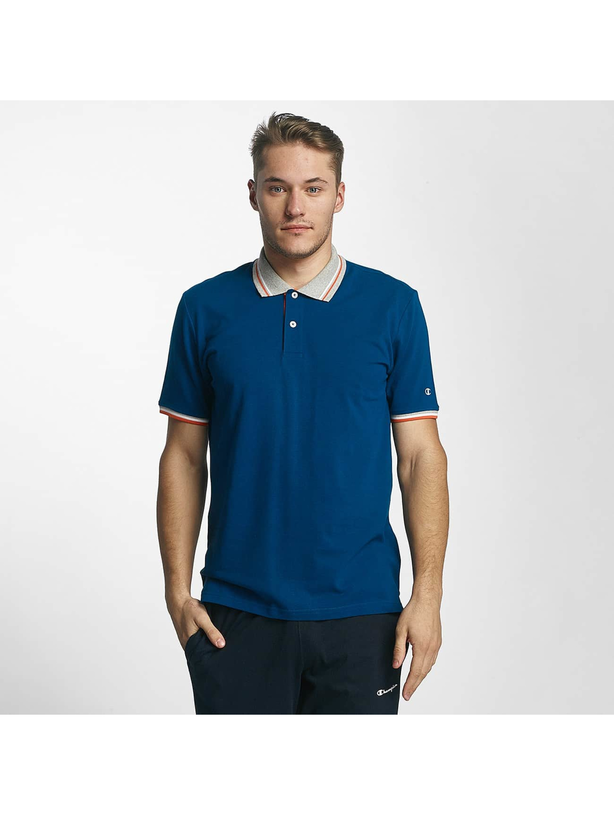 Champion Athletics Polo Basic bleu