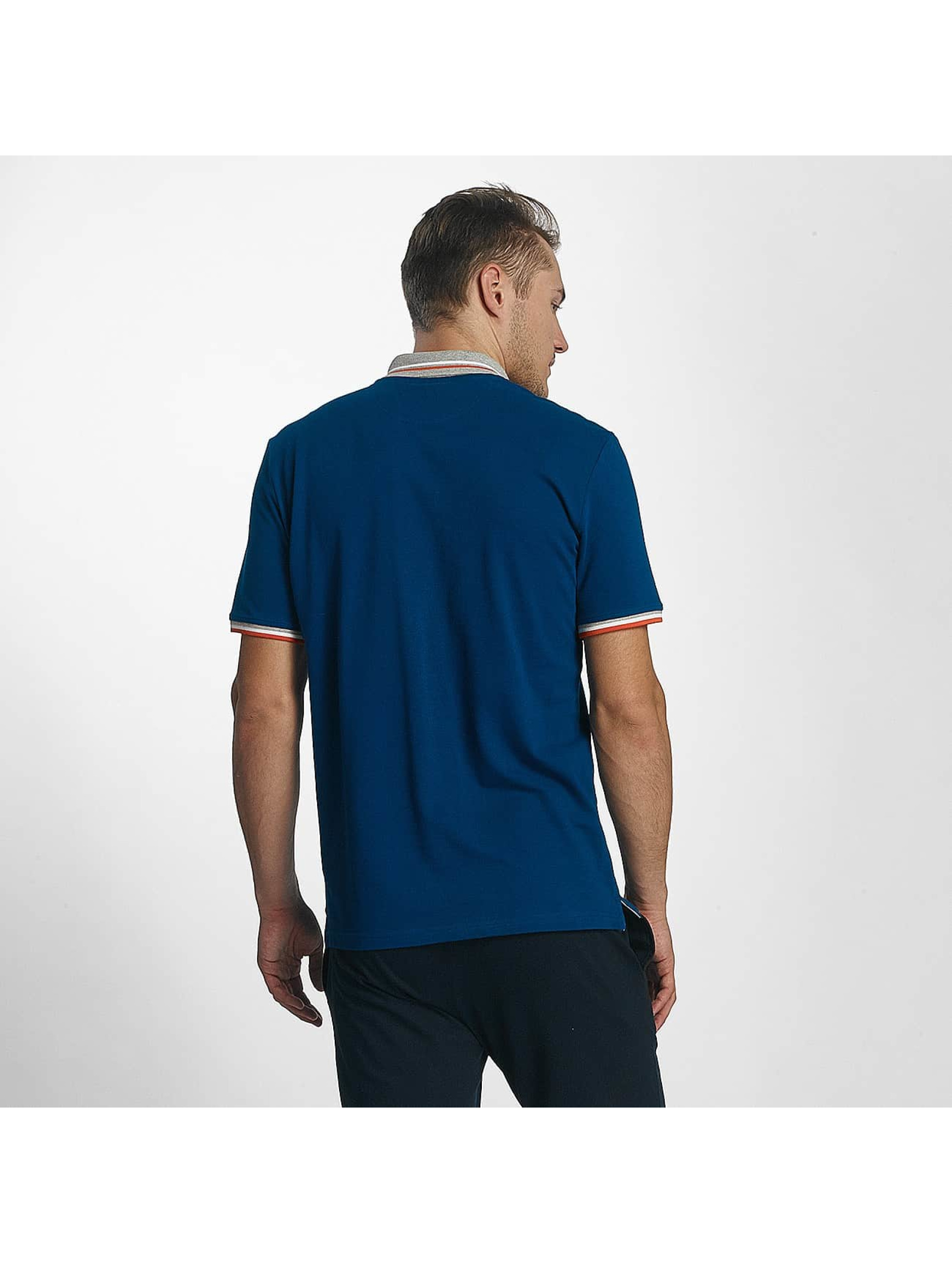 Champion Athletics poloshirt Basic blauw