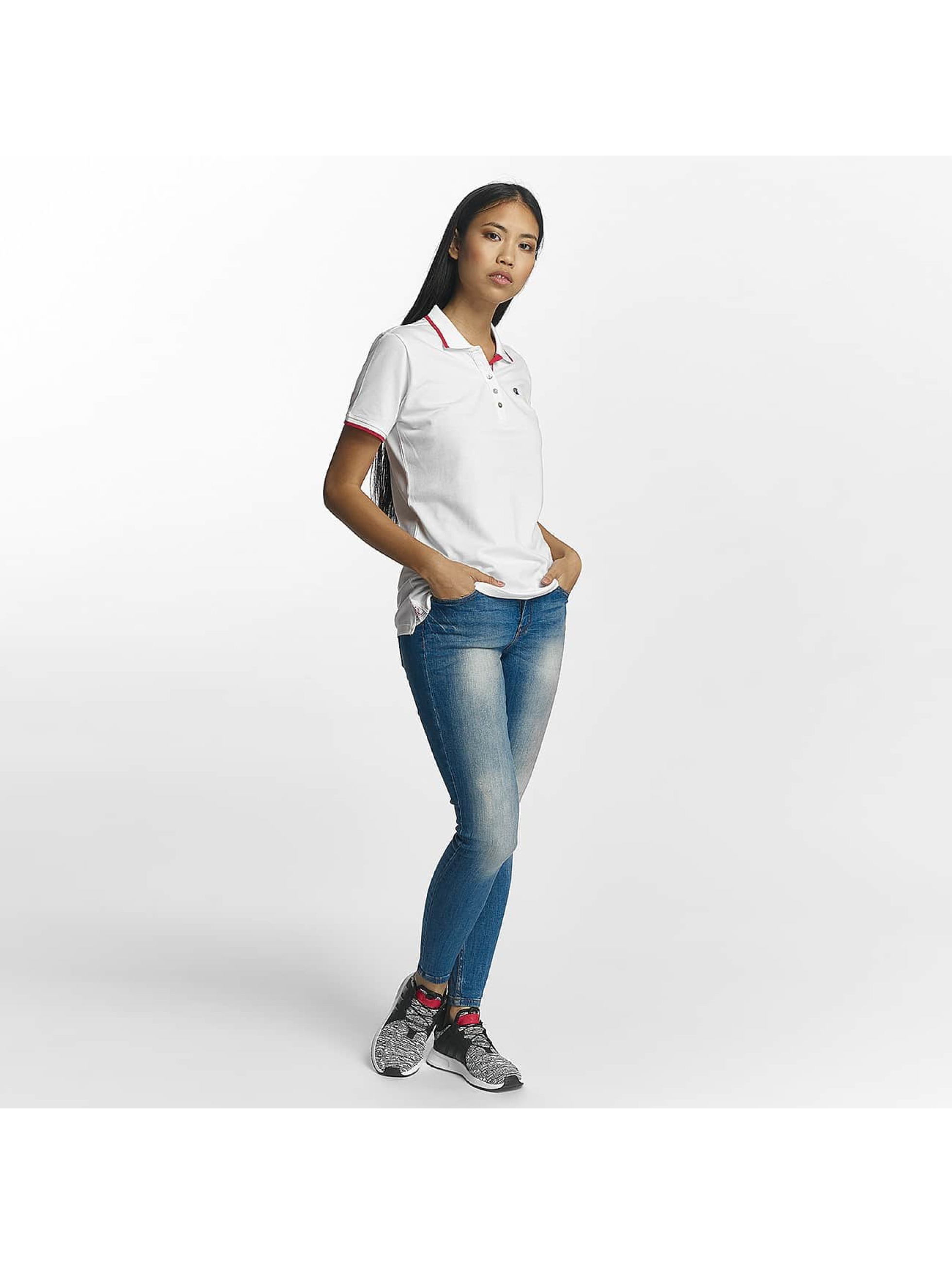 Champion Athletics Poloshirts Monaco hvid
