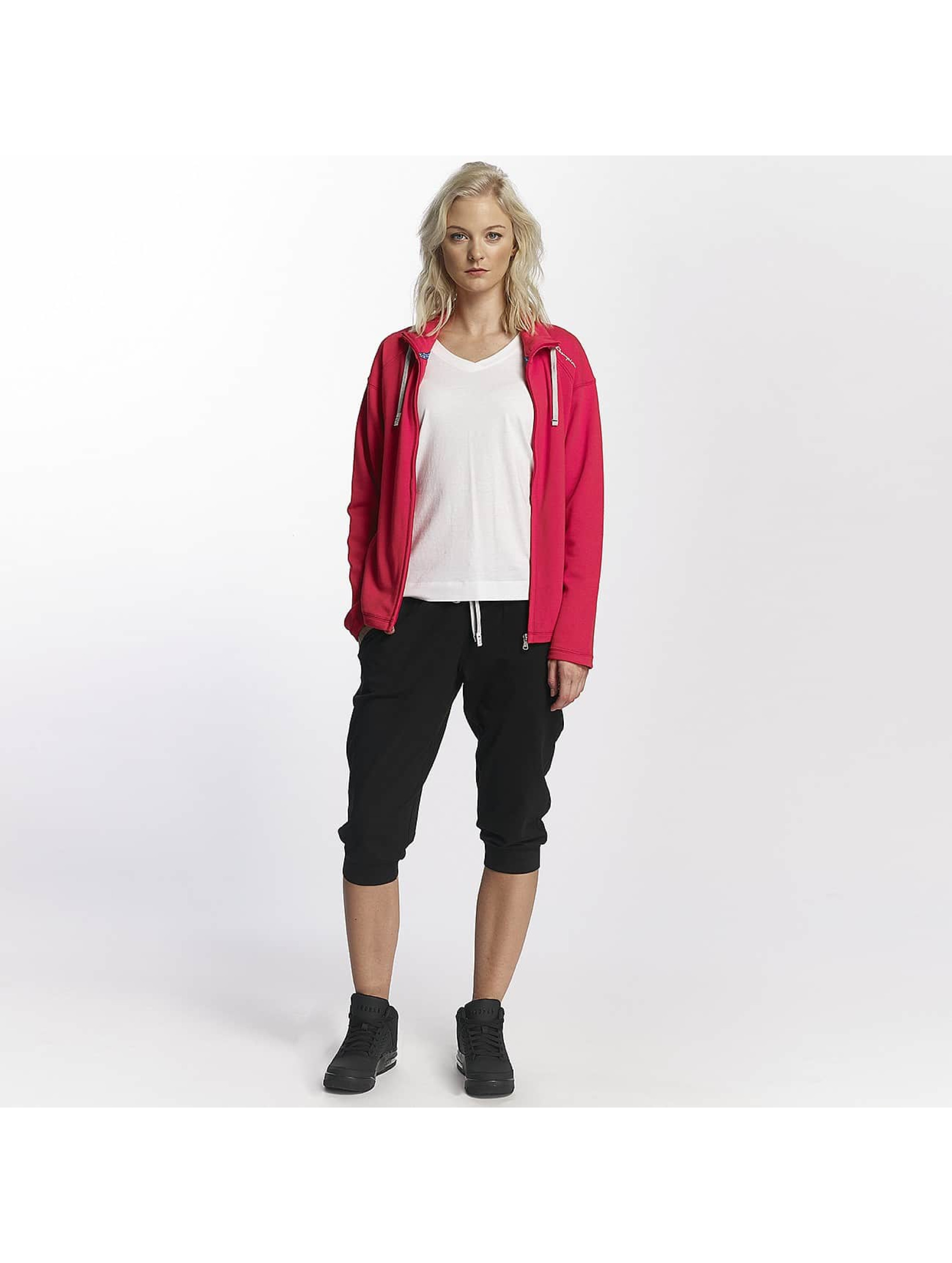 Champion Athletics Sweat capuche zippé Brooklyn Bridge rouge