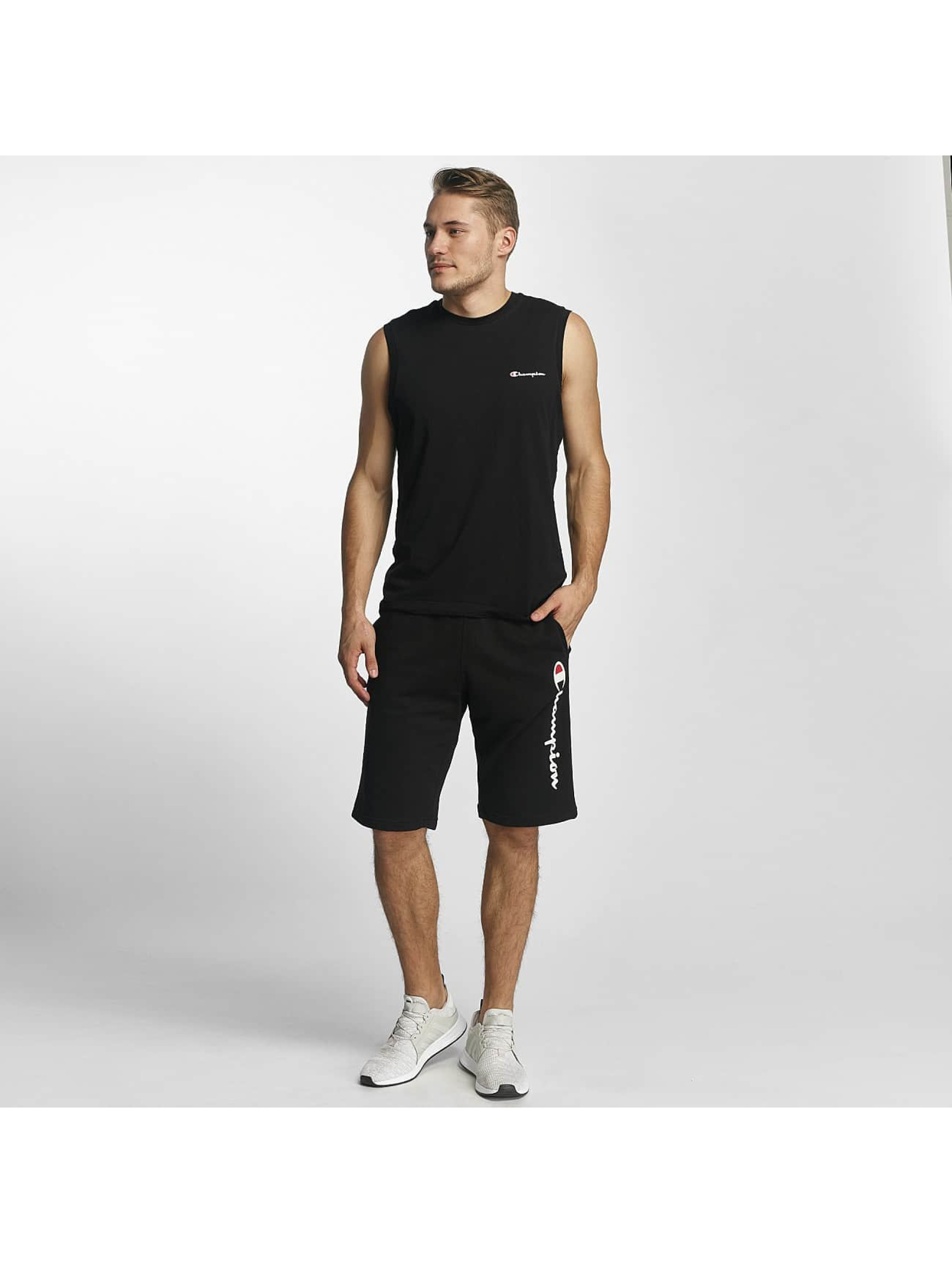 Champion Athletics T-paidat Sleeveless musta