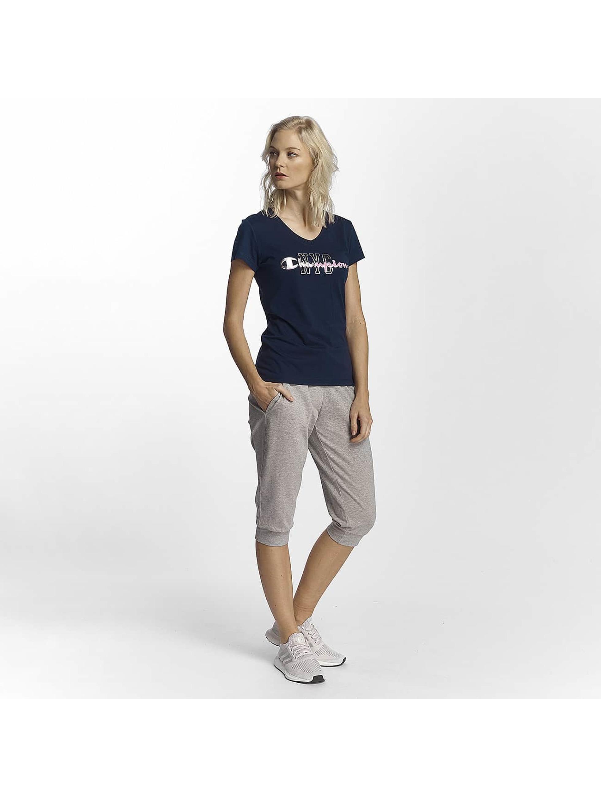 Champion Athletics T-shirt NYC blå