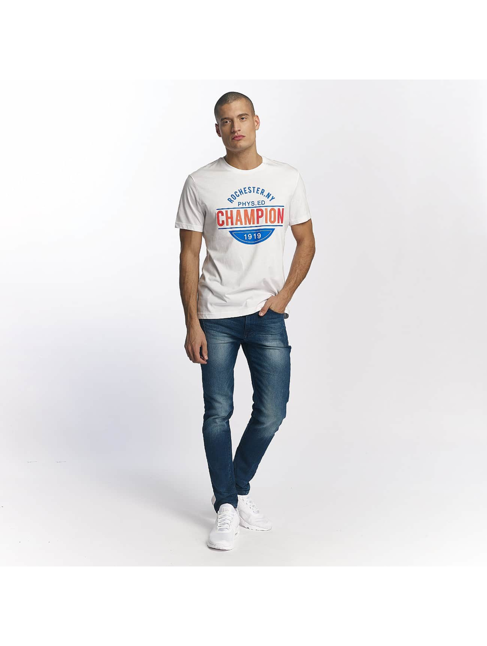Champion Athletics T-Shirt Rochester New York blanc