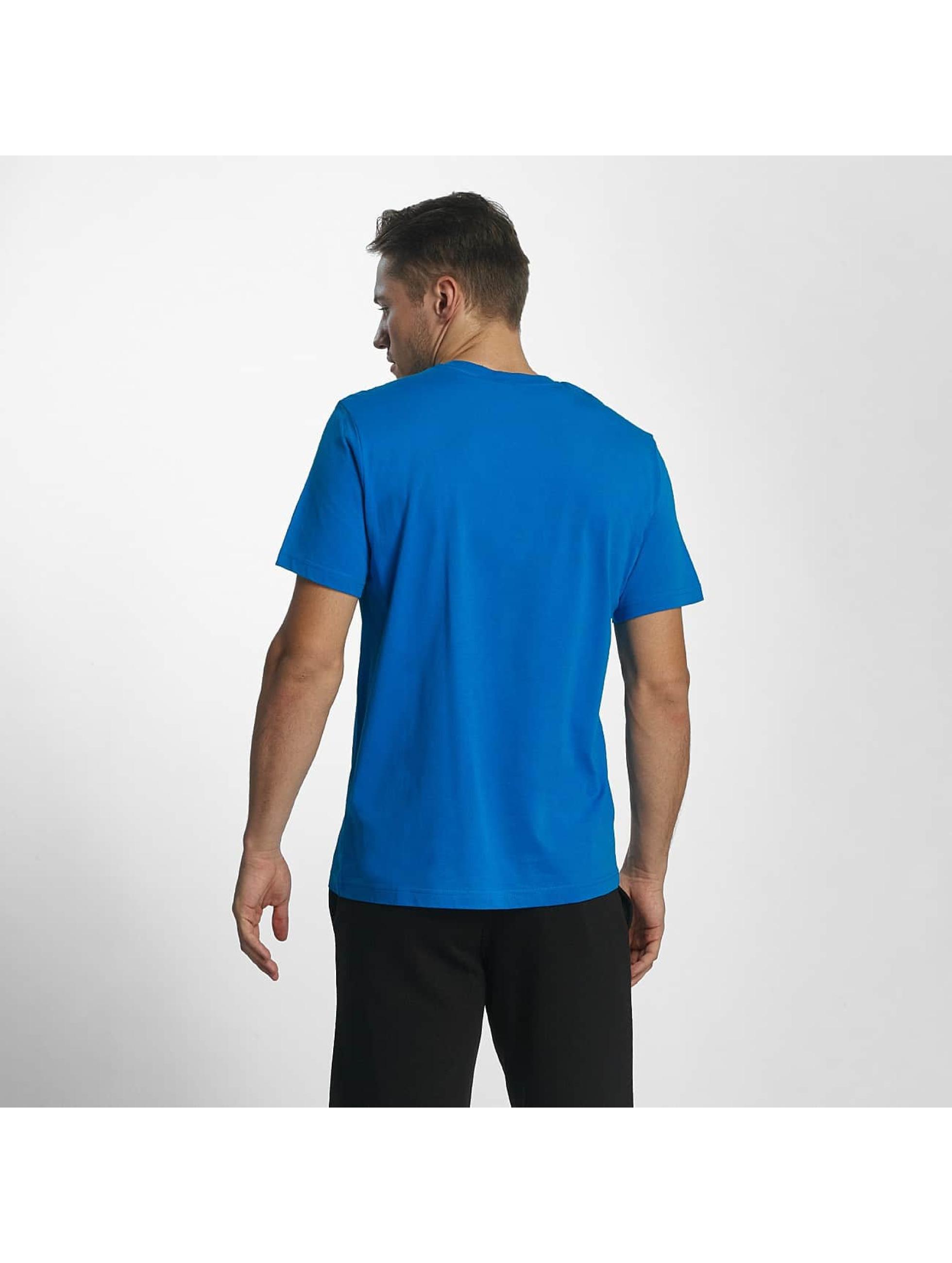 Champion Athletics T-Shirt Logo blau