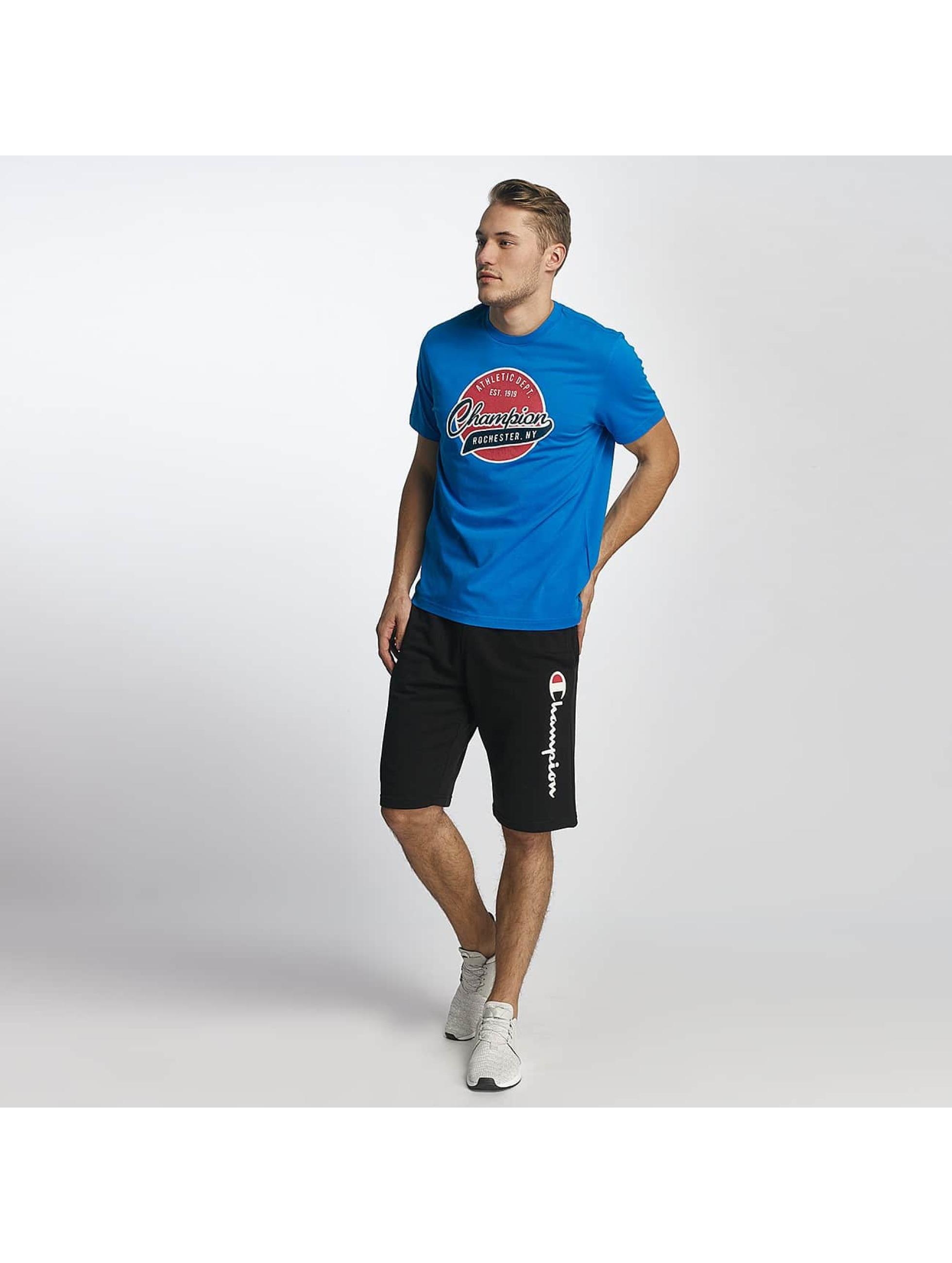 Champion Athletics T-Shirt Logo blue