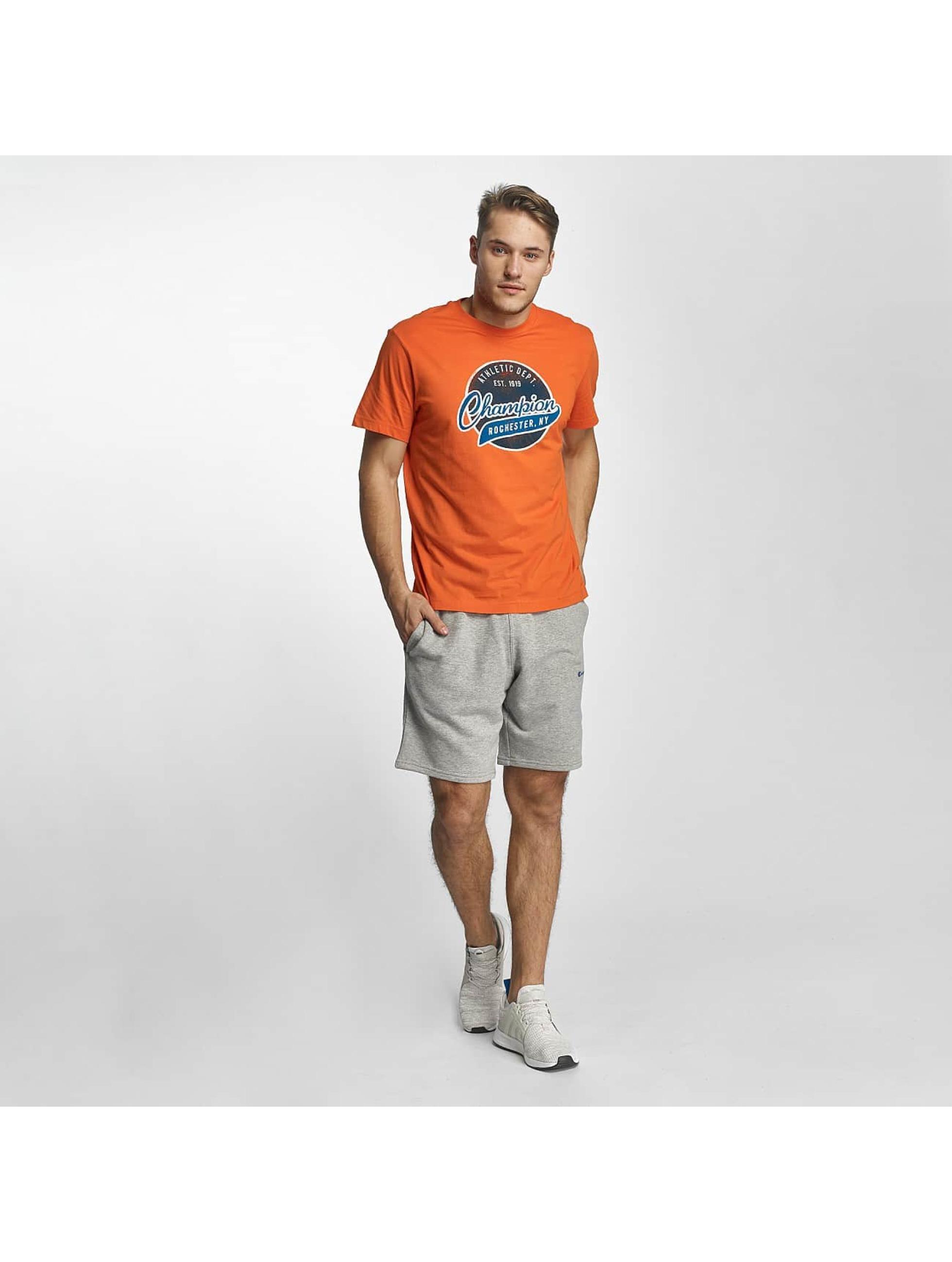 Champion Athletics t-shirt Bryant Park oranje
