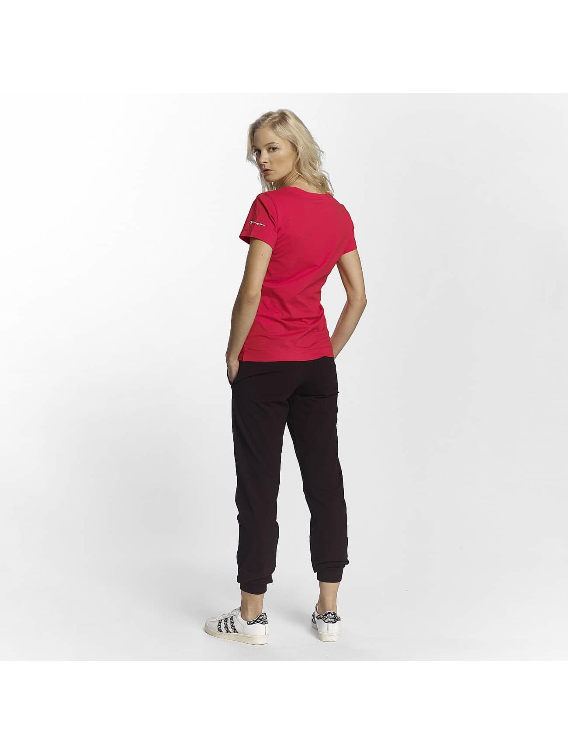 Champion Athletics T-Shirt V-Neck T-Shirt Llr rot