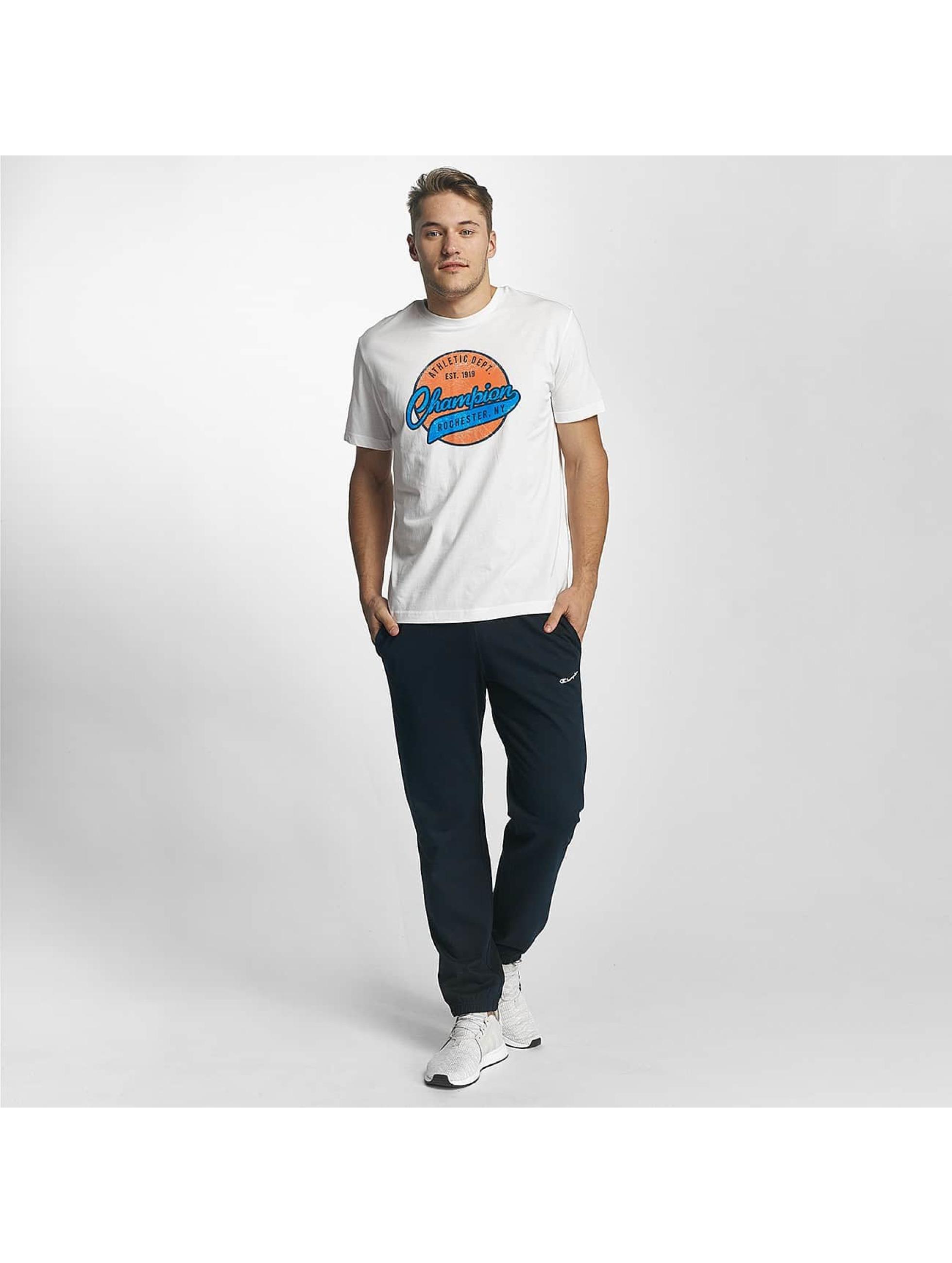 Champion Athletics T-Shirt Logo weiß