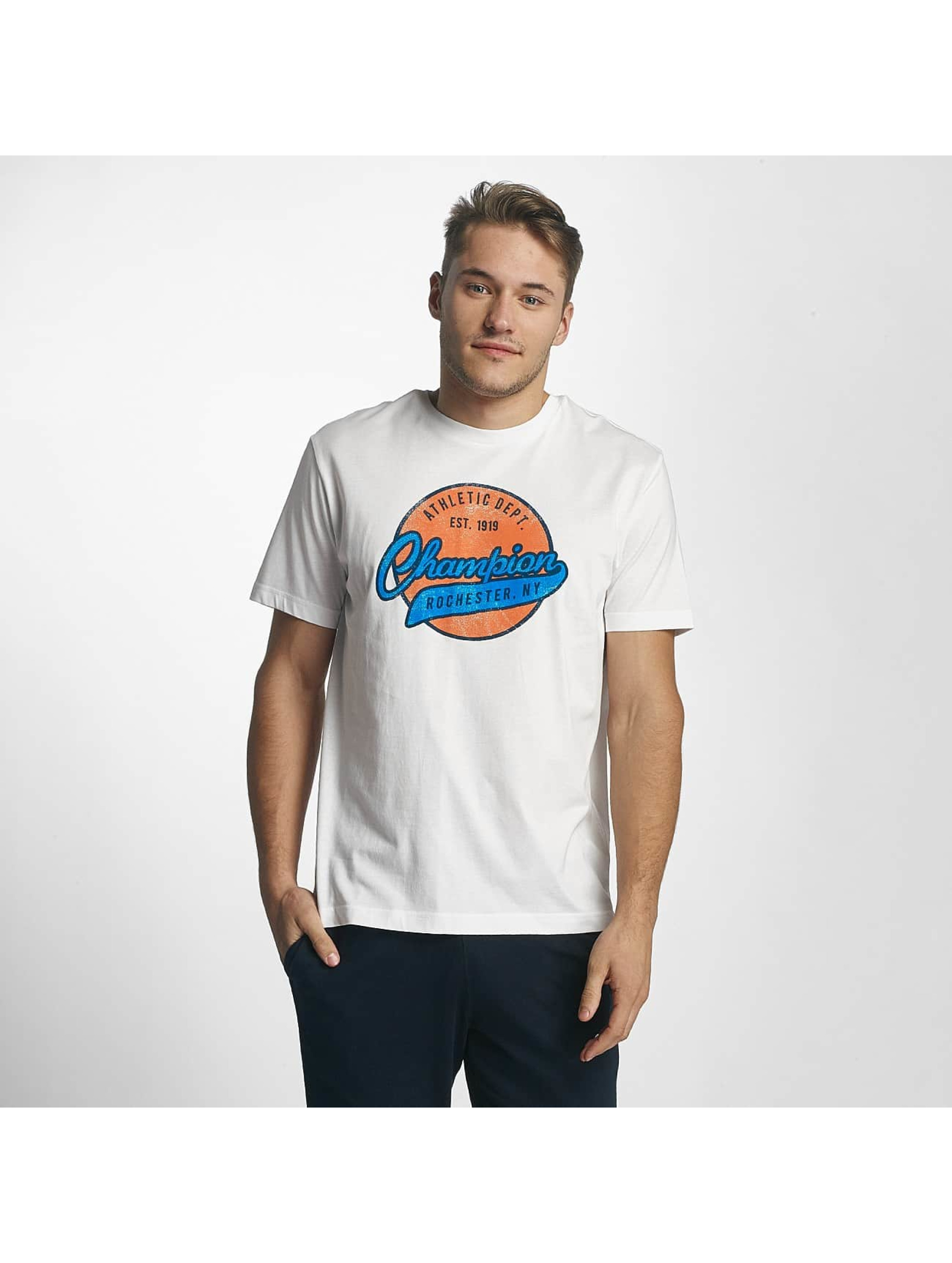 Champion Athletics T-Shirt Logo white