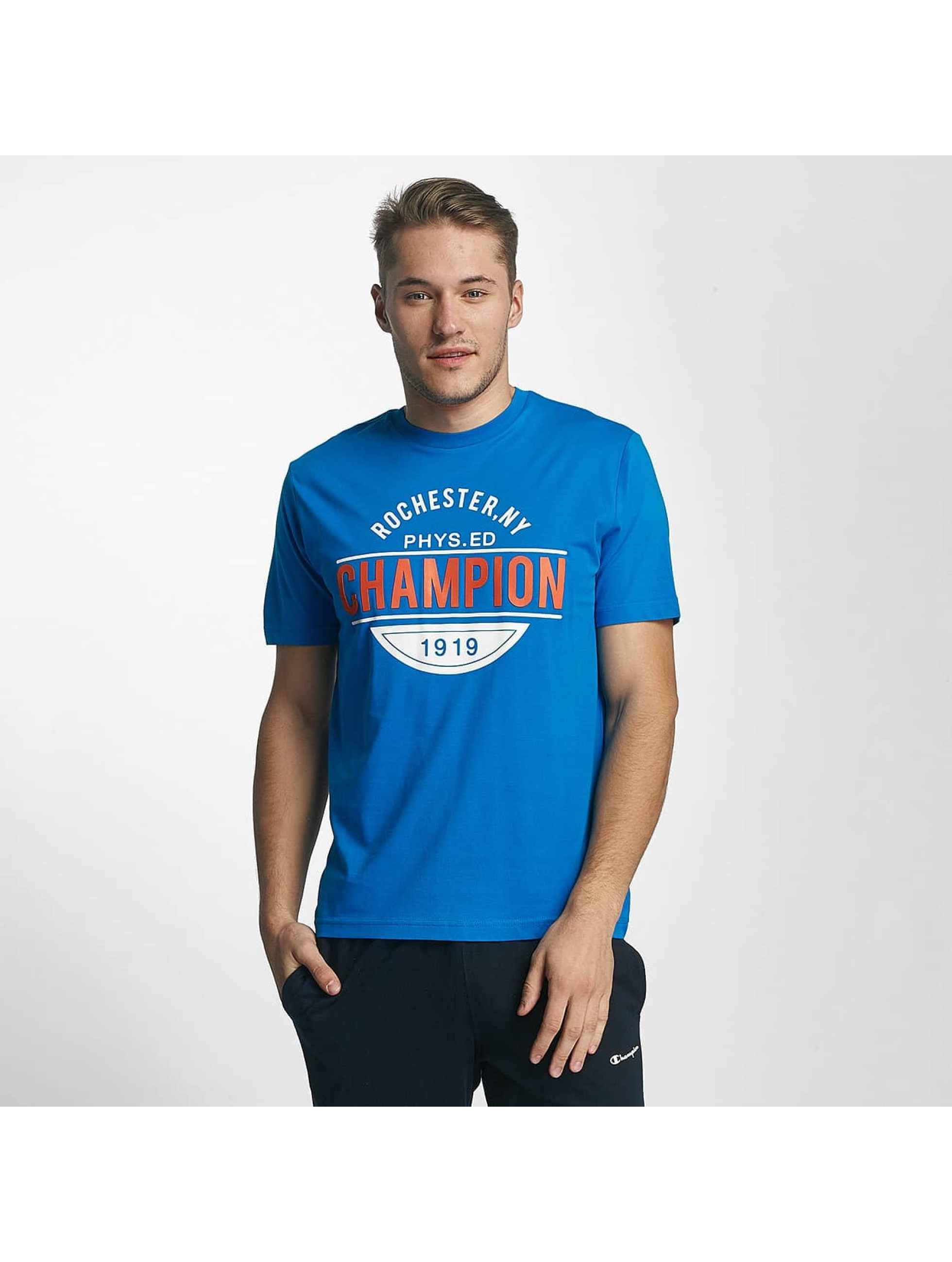 Champion Athletics T-Shirty Rochester New York niebieski