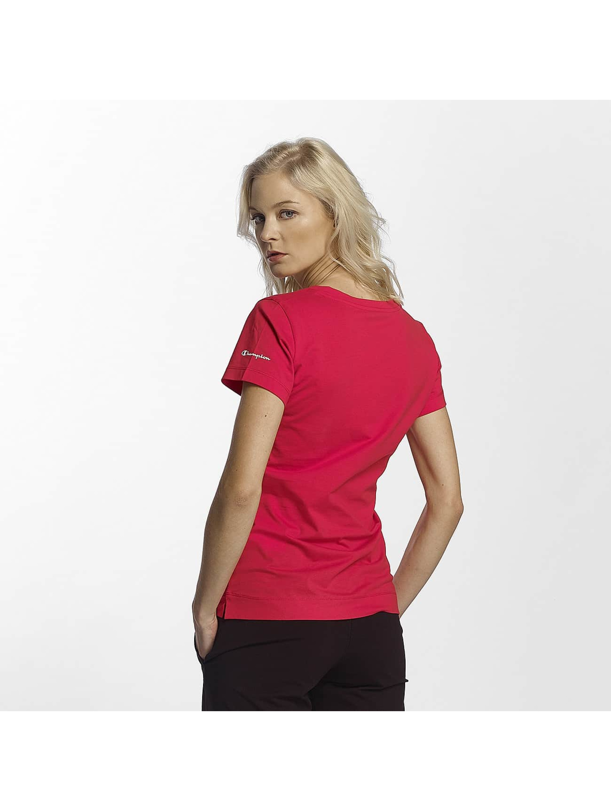 Champion Athletics T-skjorter V-Neck T-Shirt Llr red
