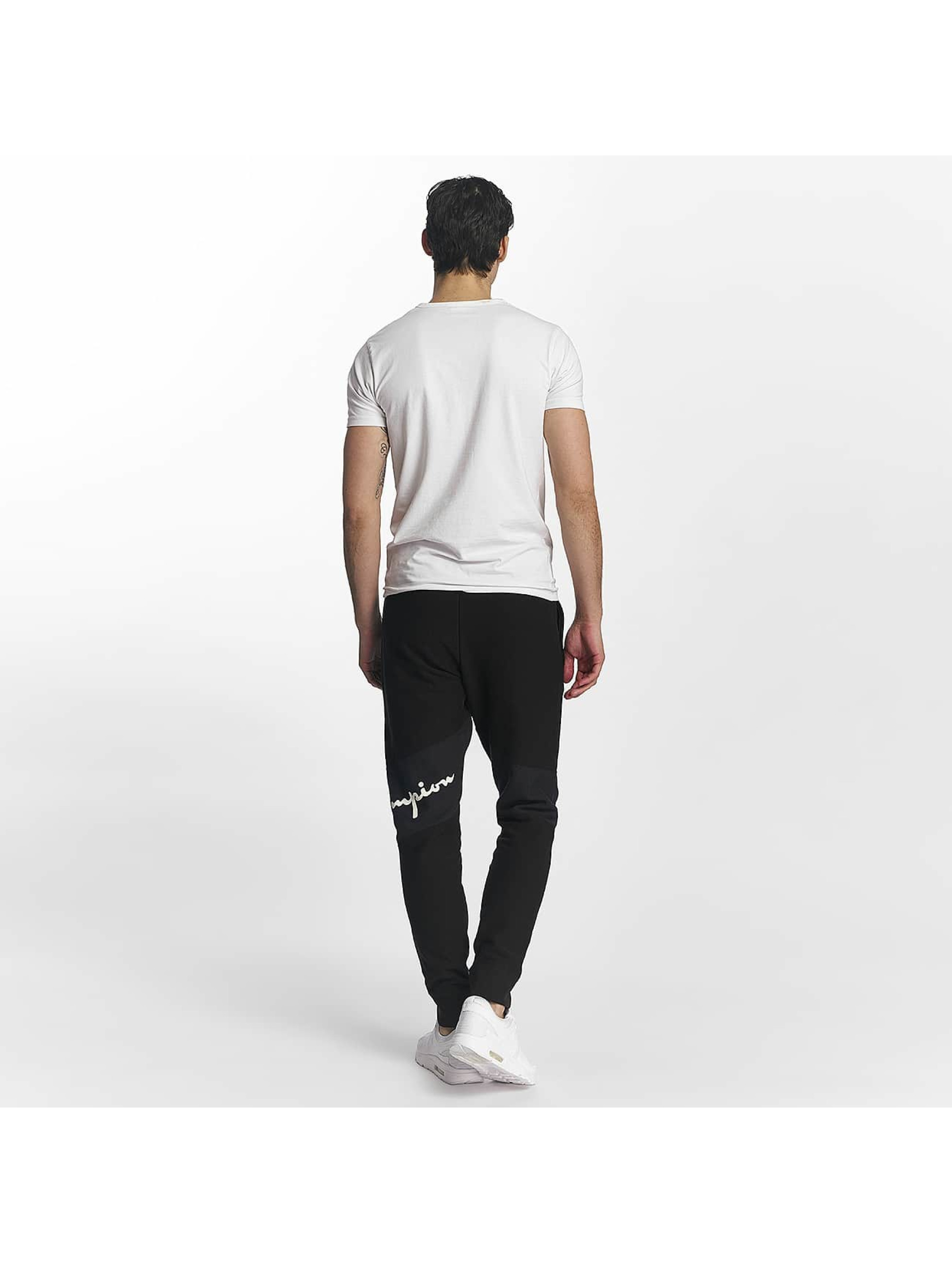 Champion joggingbroek Rib Cuff Block zwart