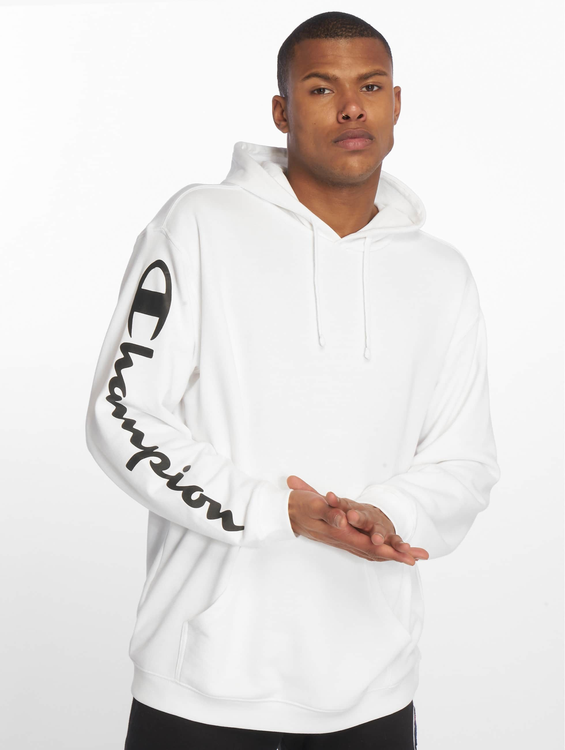 Champion Hooded Sweatshirt Hooded Sweatshirt White Champion Hooded White Champion c34AqSLR5j