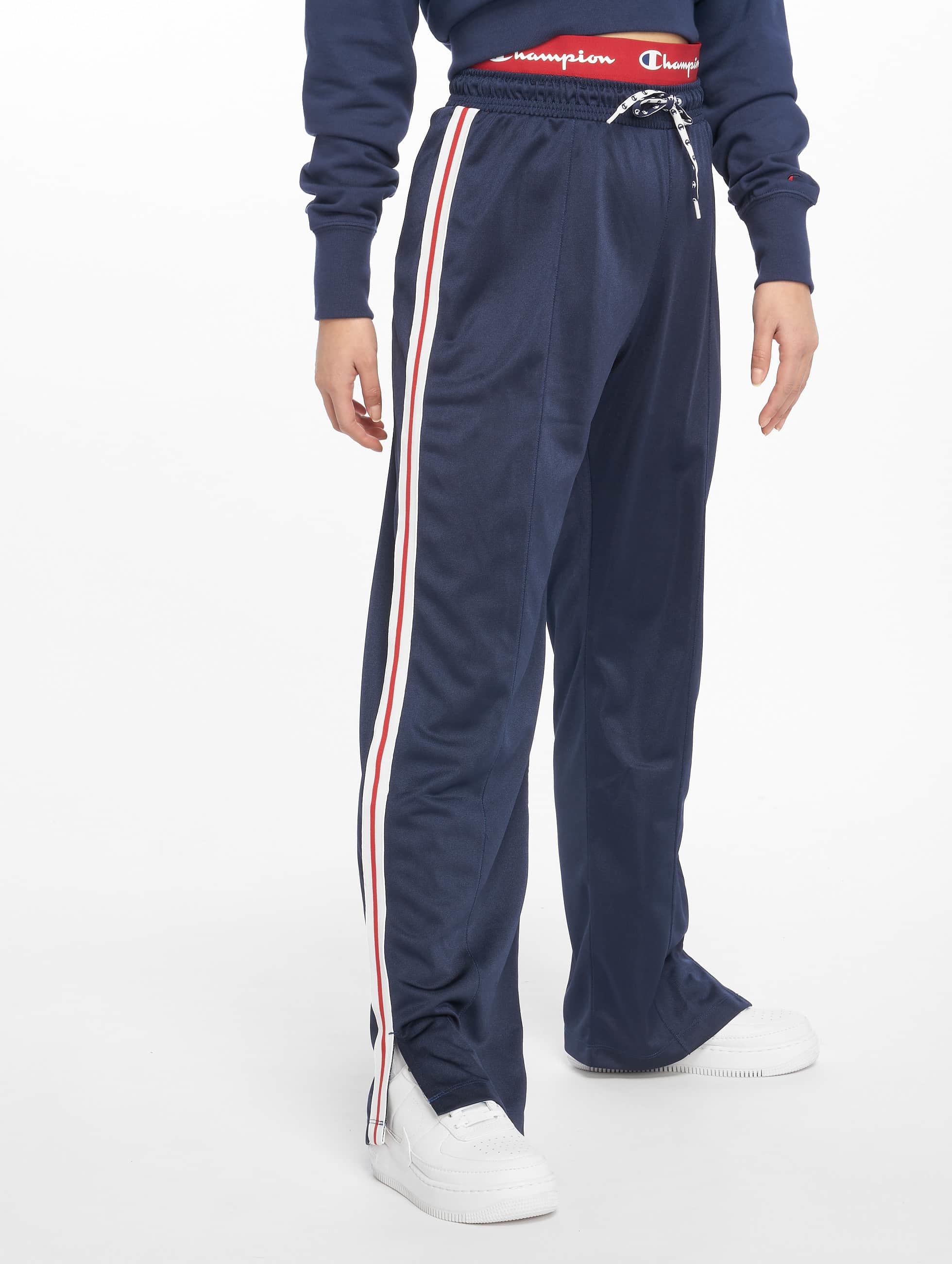 Sweat Straight Pants Rochester Bluewhite Champion Hem A4R5jL