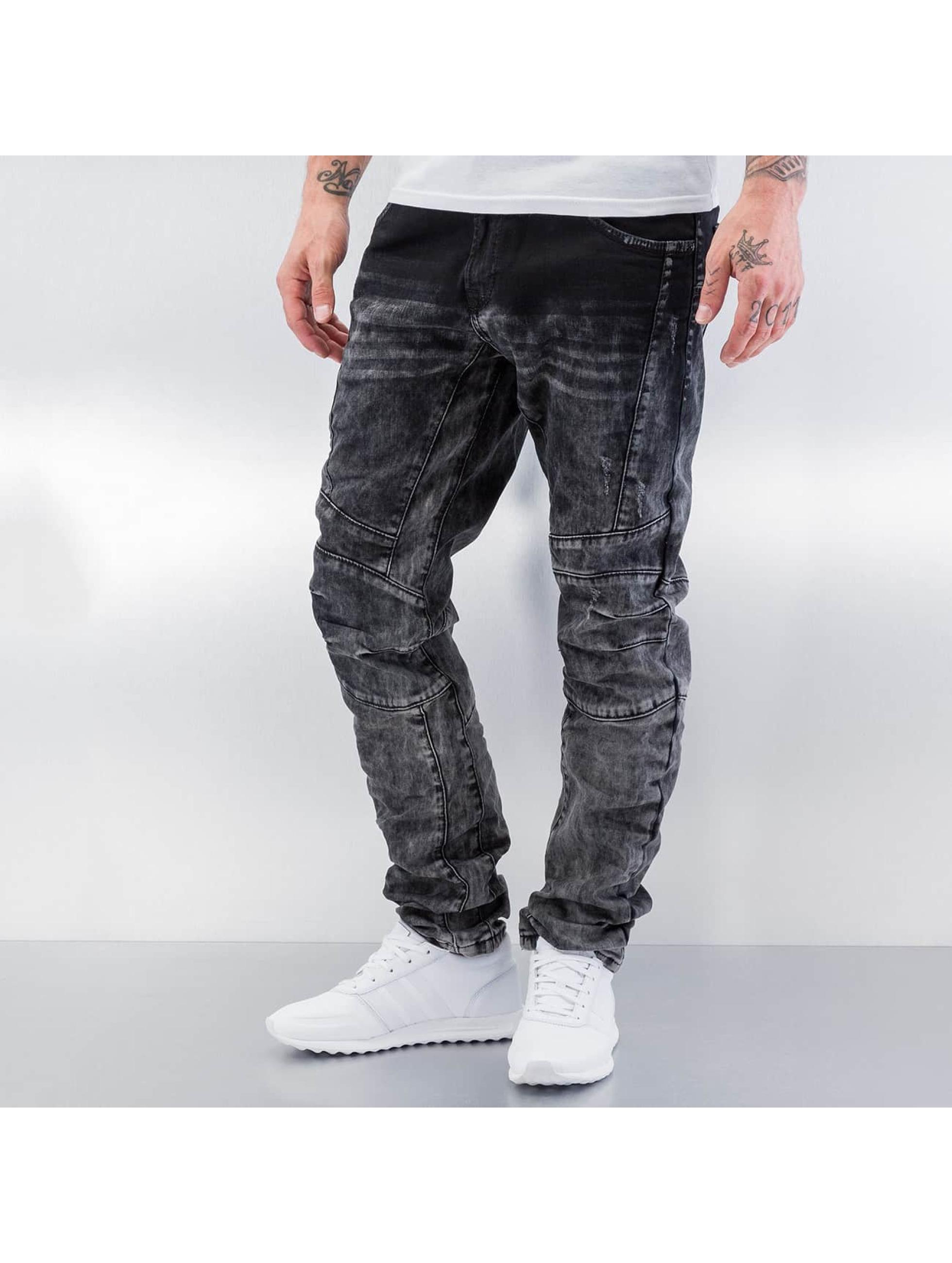Cipo & Baxx Облегающие джинсы Washed серый