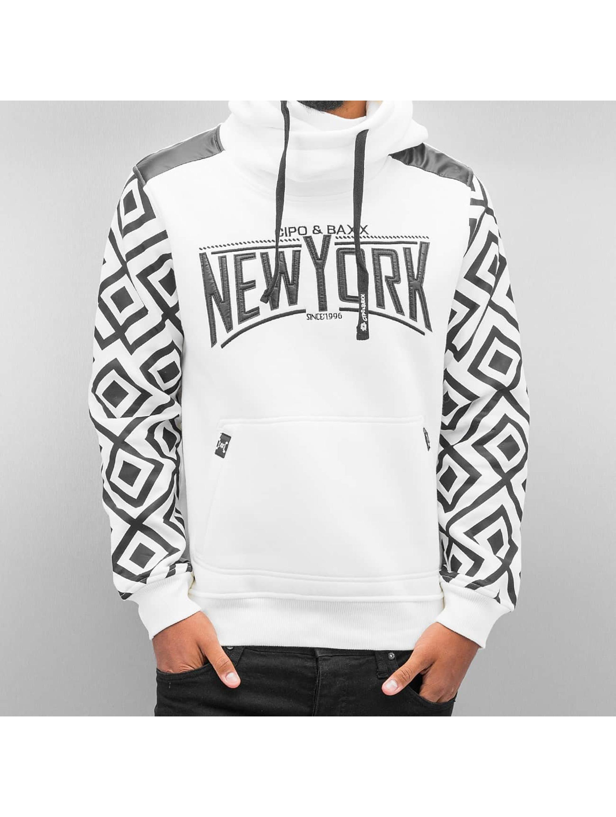 Cipo & Baxx Толстовка New York белый