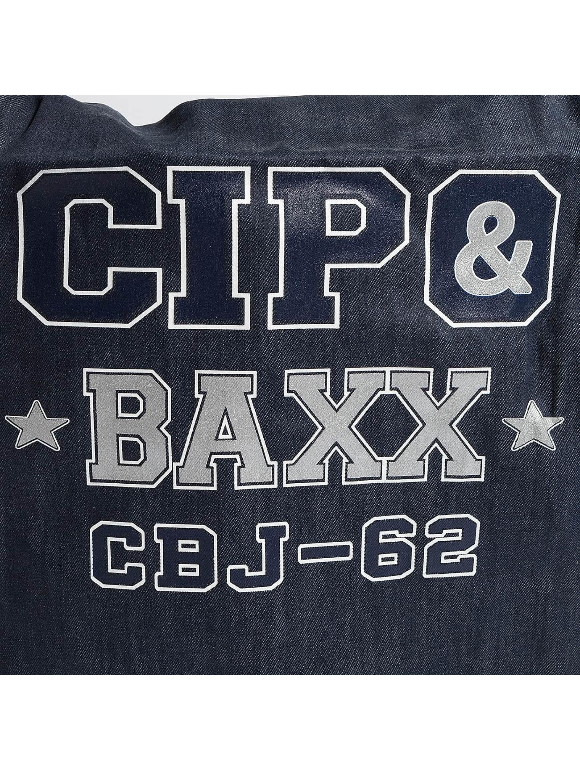 Cipo & Baxx Borsa Denim blu