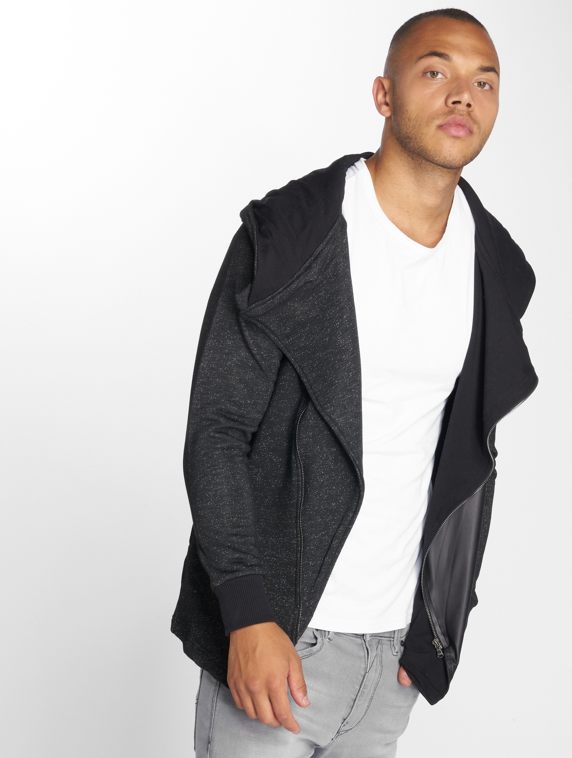 Cipo & Baxx Cardigan Laddie black
