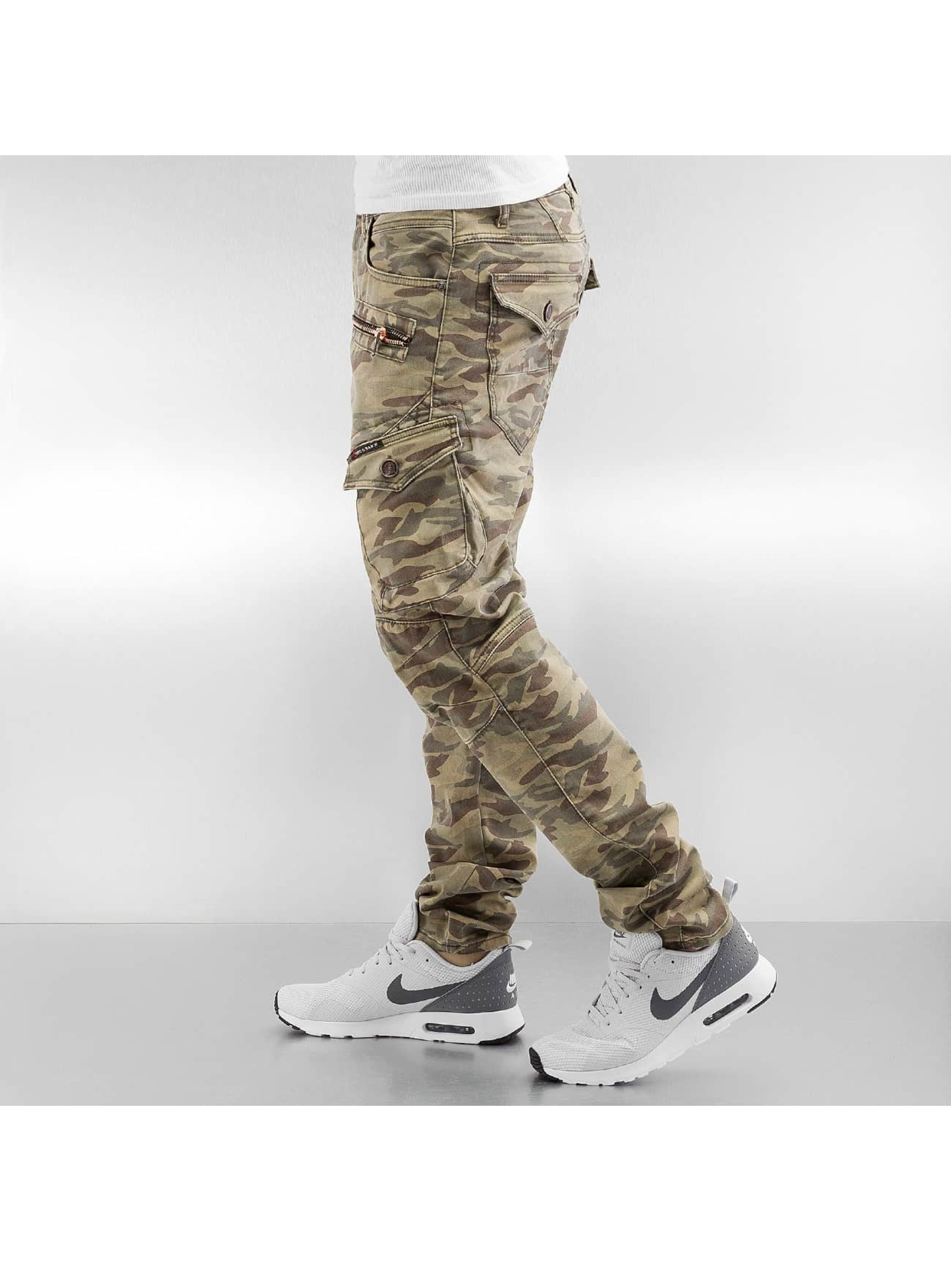Cipo & Baxx Cargohose Army camouflage
