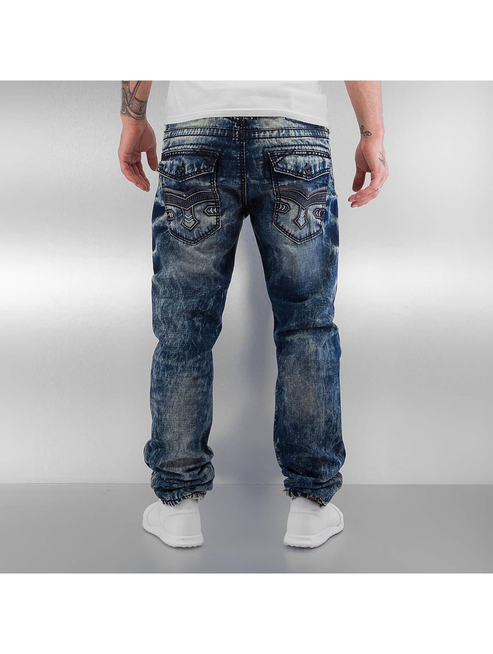 Cipo & Baxx Dżinsy straight fit Jari niebieski