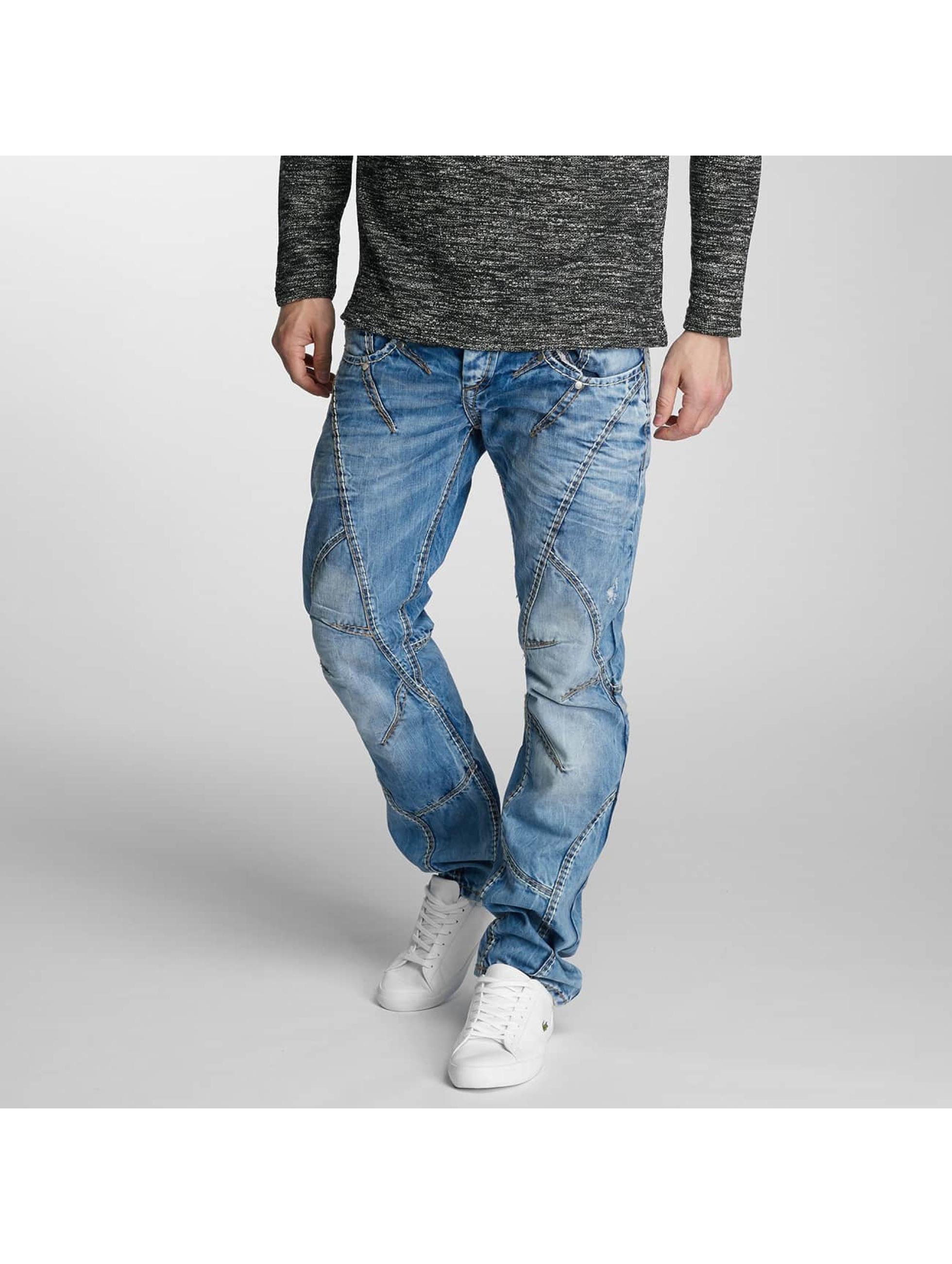 Cipo & Baxx Dżinsy straight fit Flatey niebieski