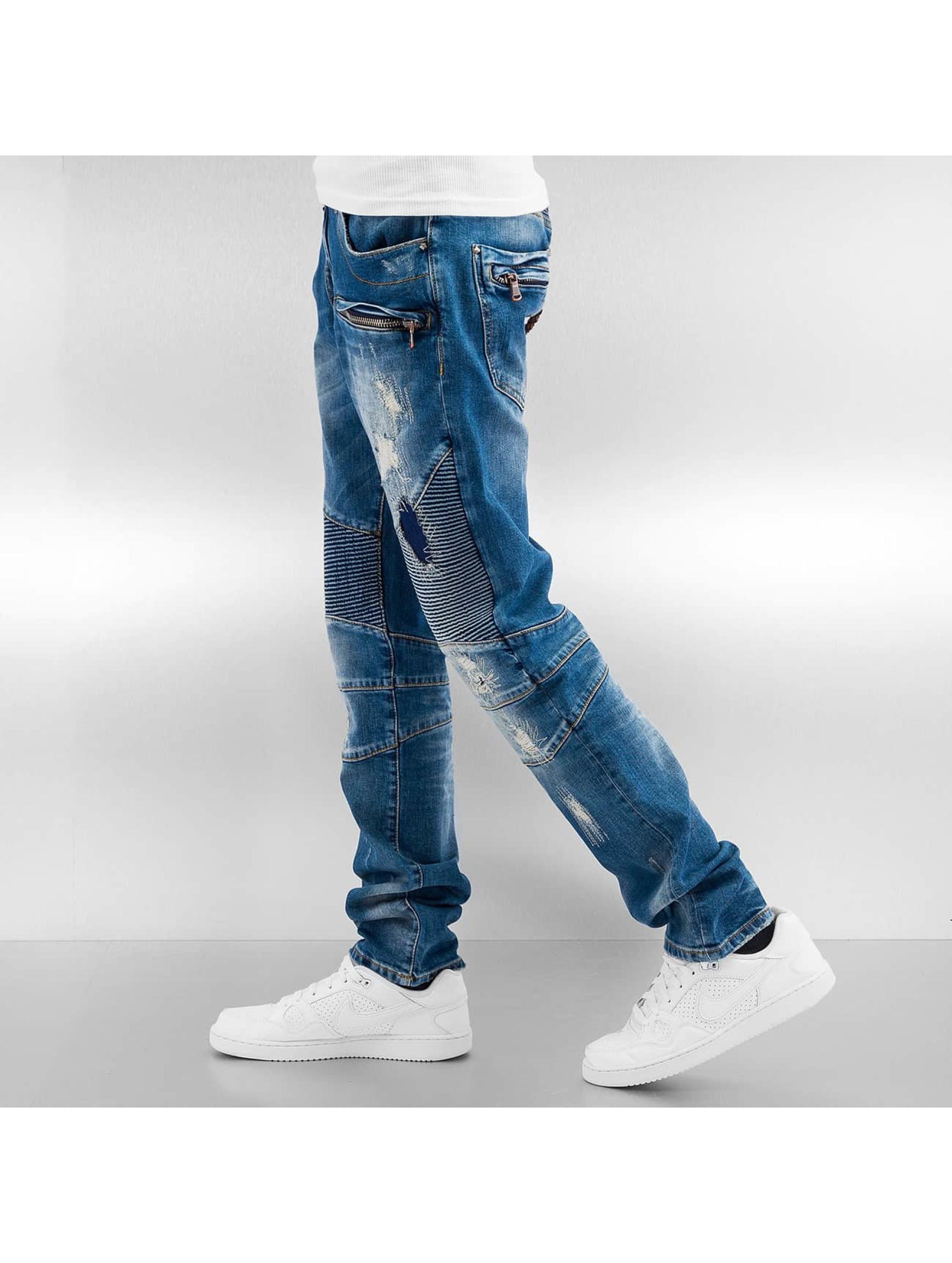 Cipo & Baxx Jean coupe droite Soletta bleu