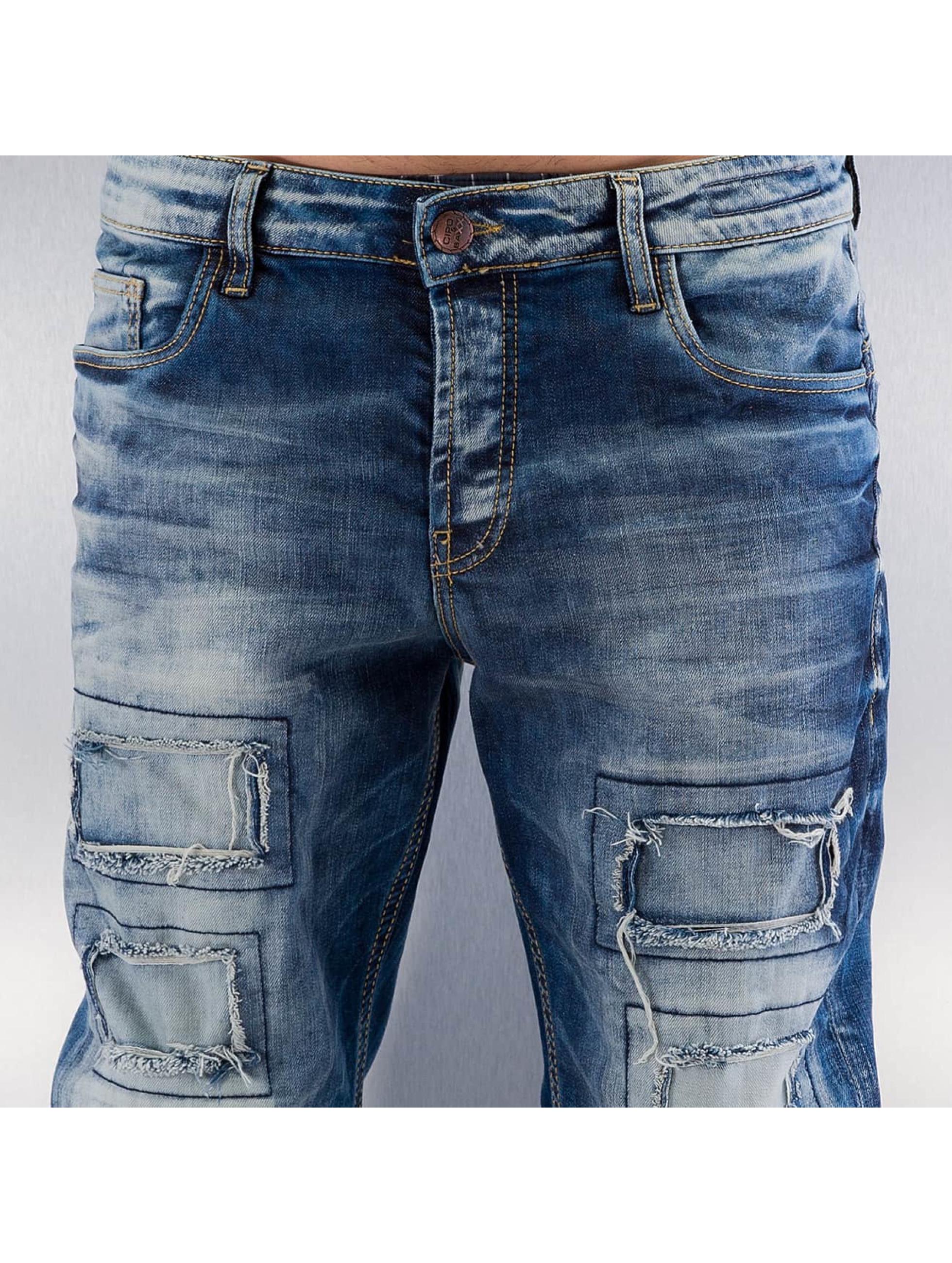 Cipo & Baxx Jean coupe droite Gipar bleu