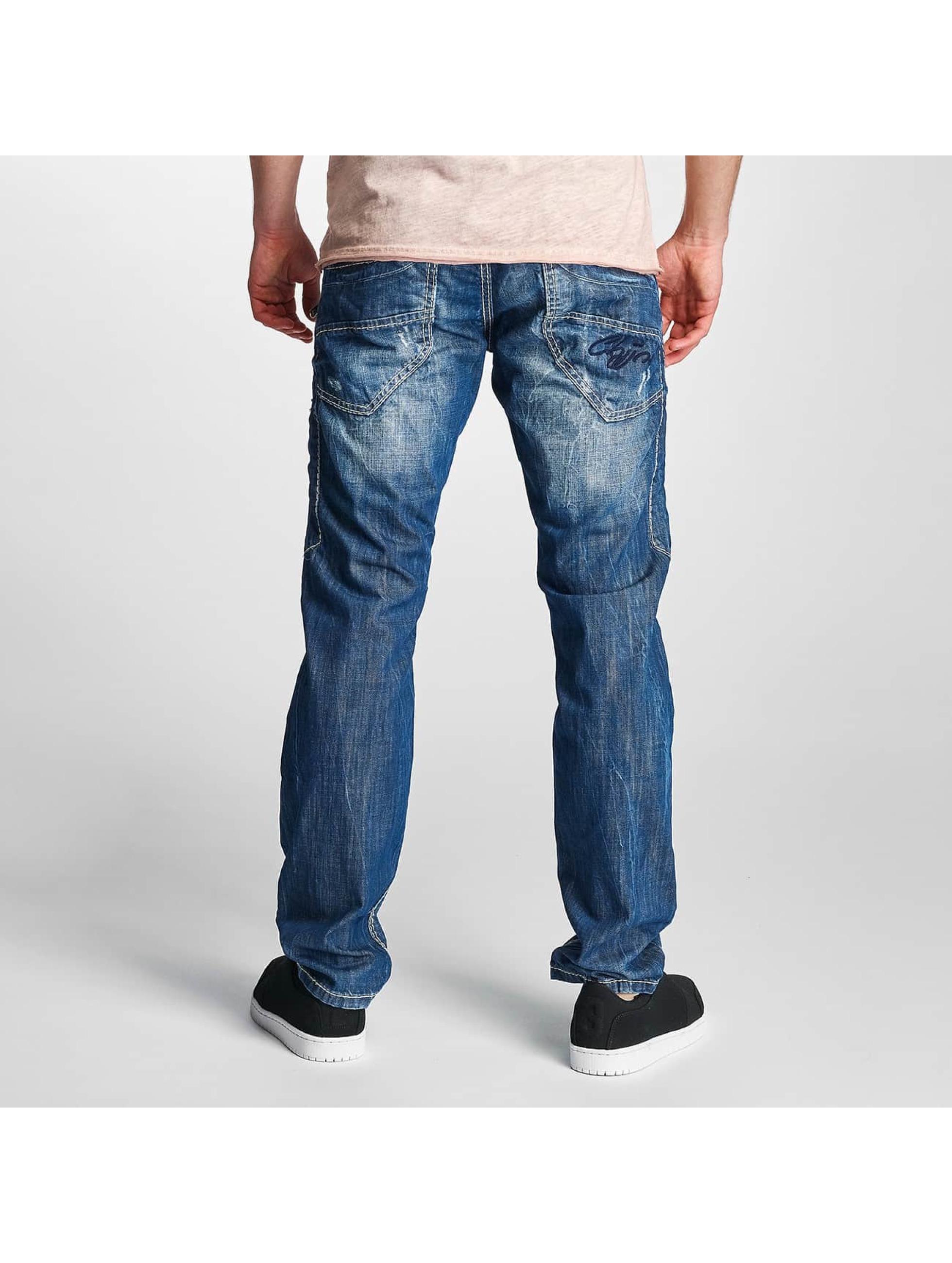 Cipo & Baxx Jean coupe droite Jarule bleu