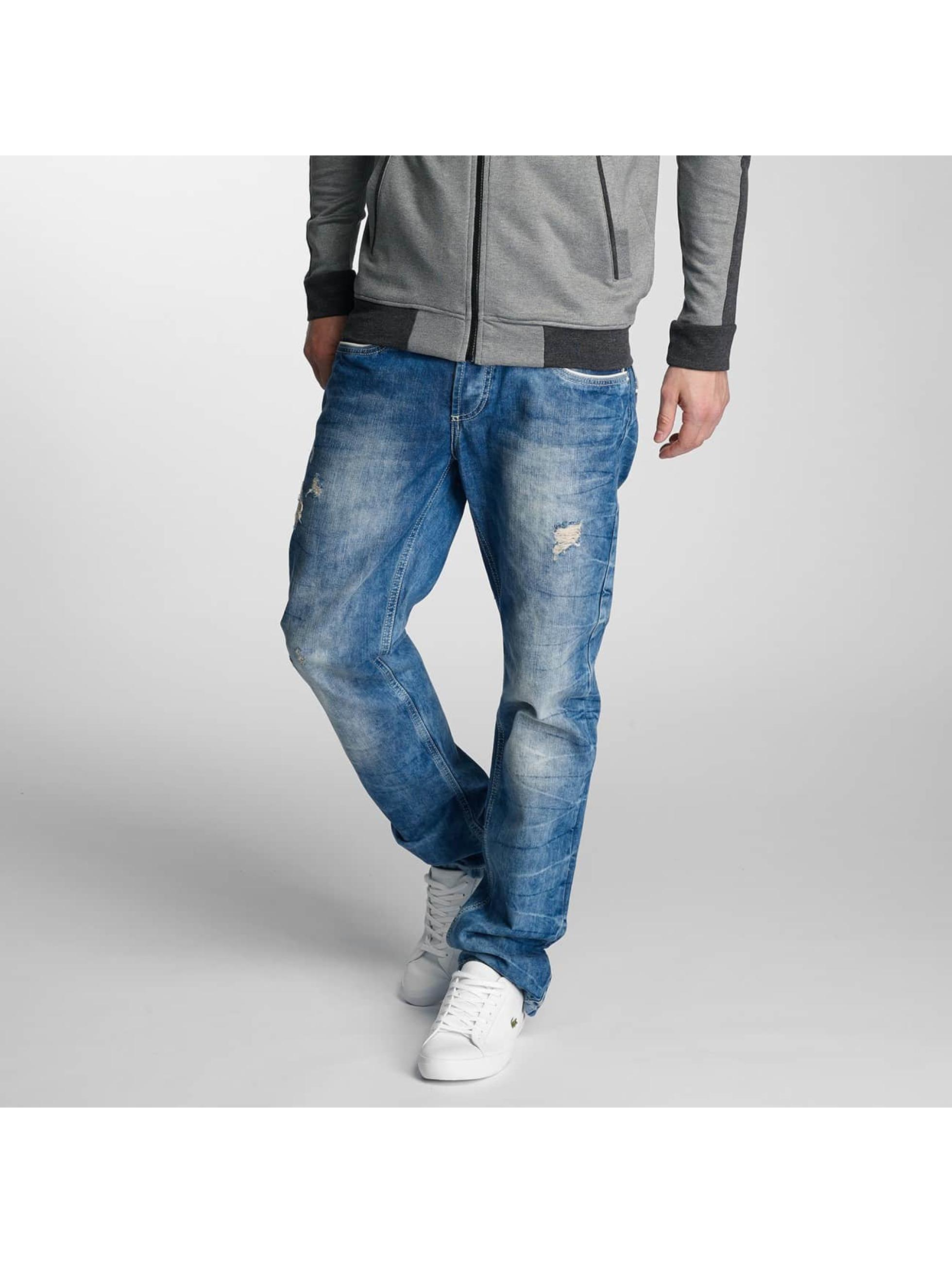 Cipo & Baxx Jean coupe droite Vogar bleu