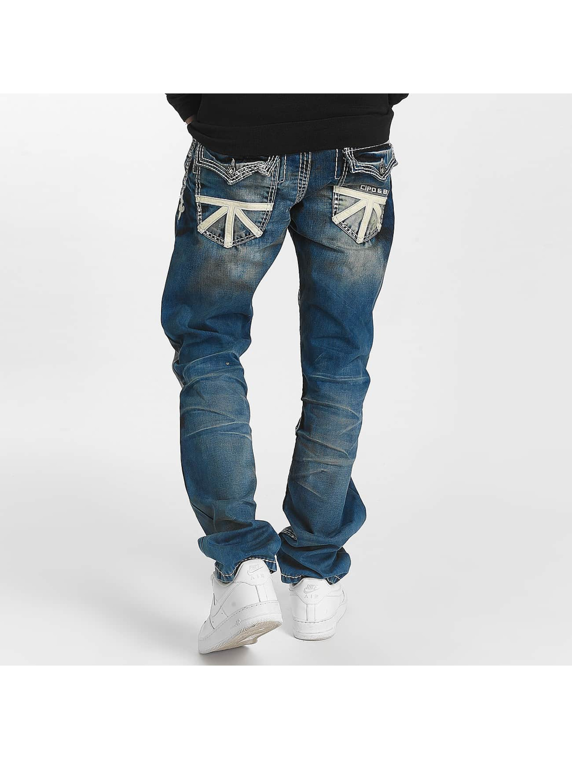 Cipo & Baxx Jean coupe droite Straight bleu