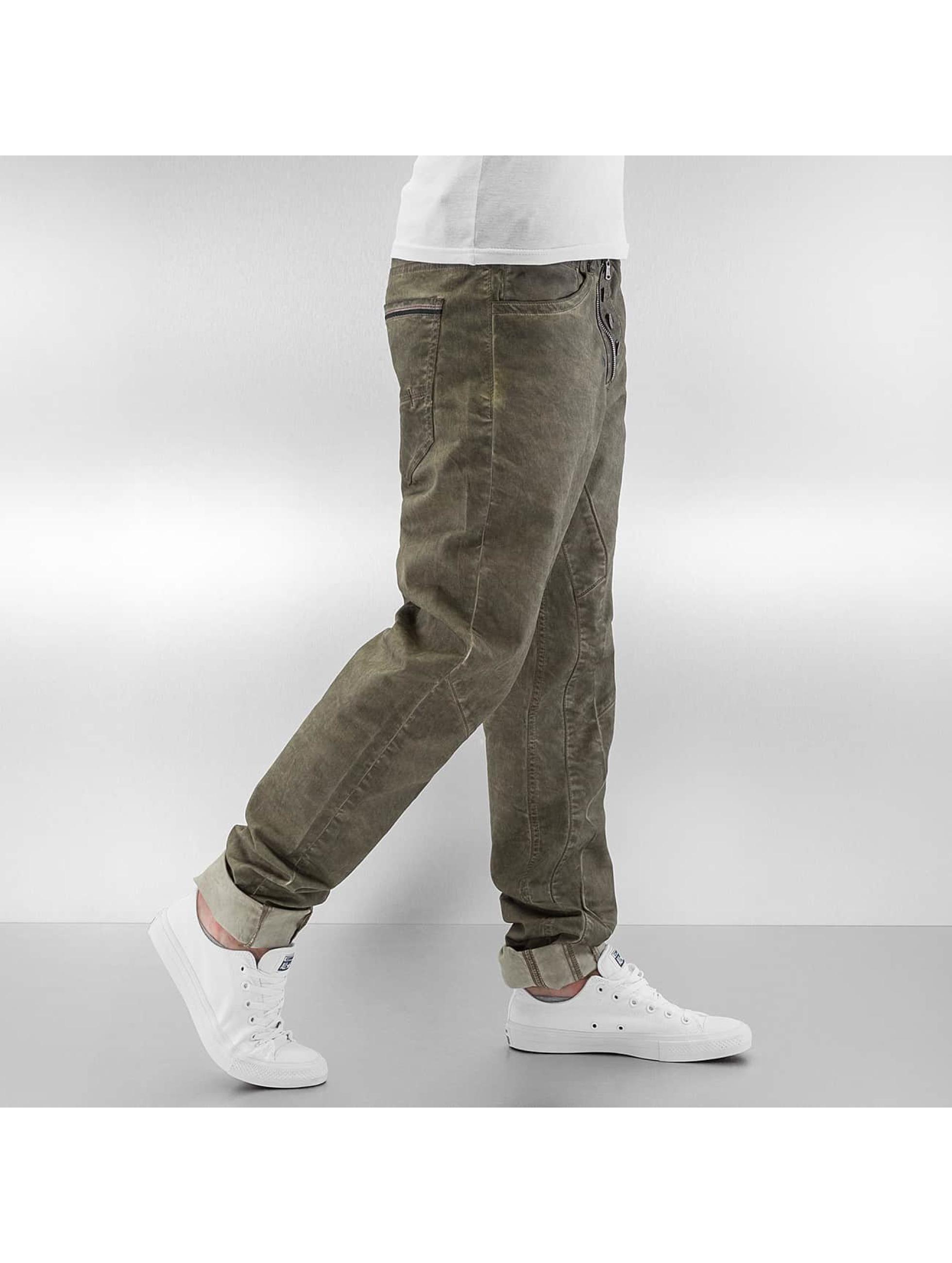 Cipo & Baxx Jean coupe droite Ebro kaki