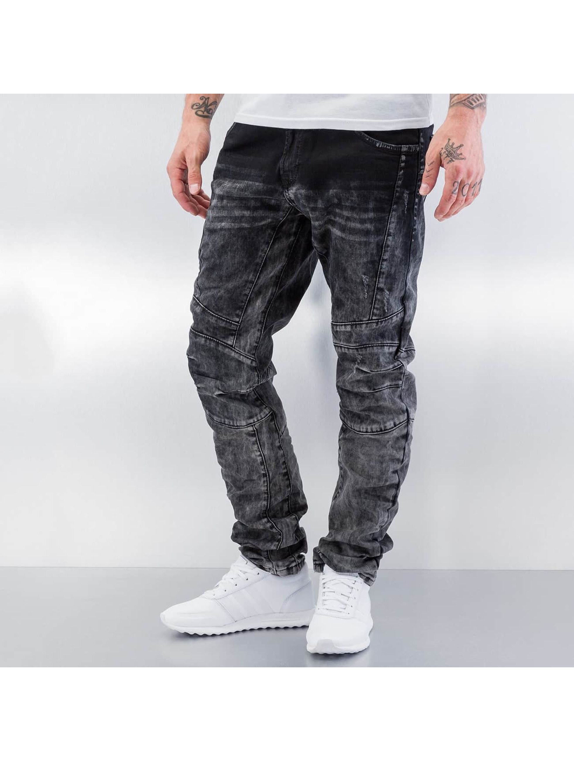 Cipo & Baxx Jean skinny Washed gris