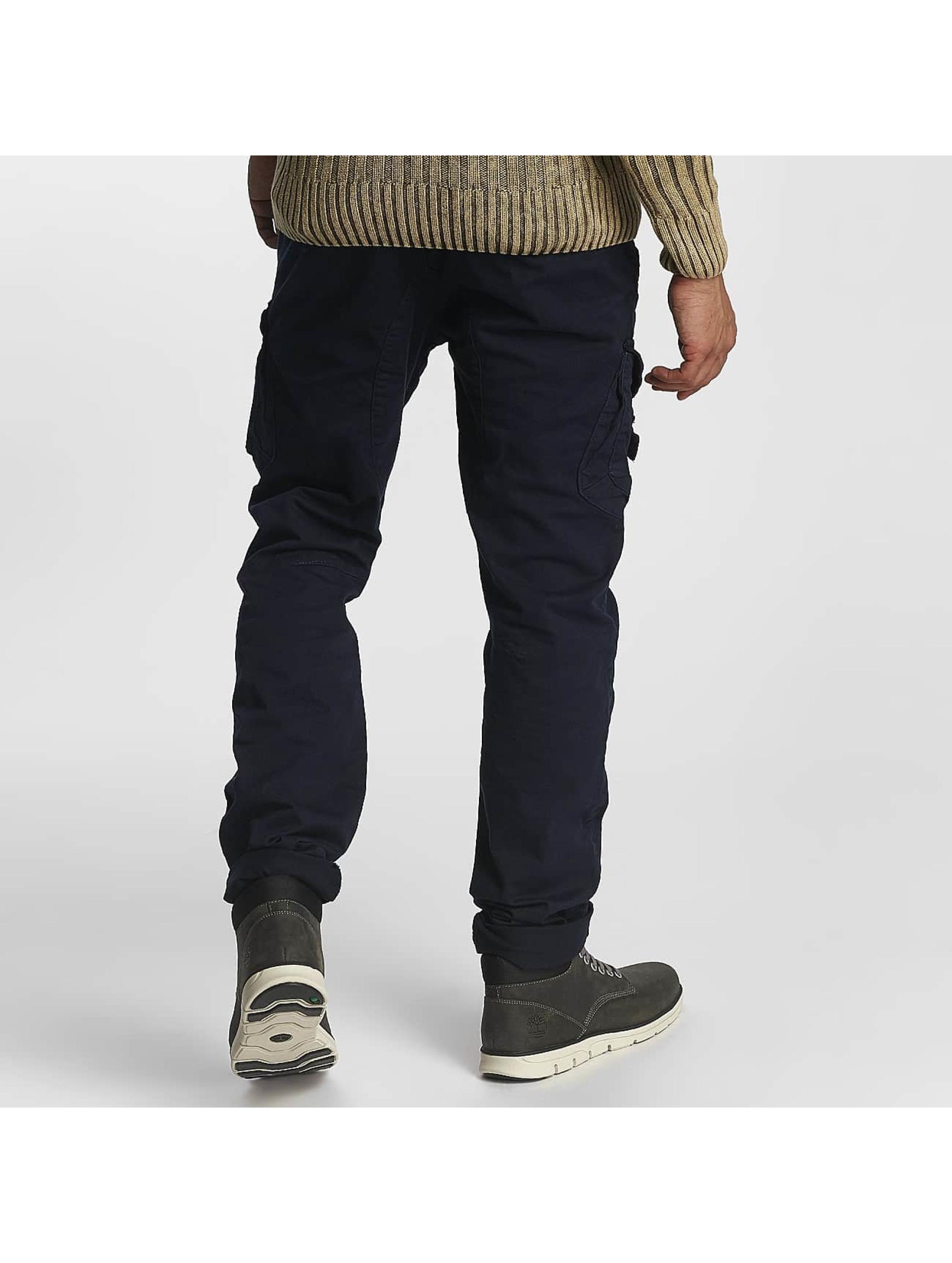 Cipo & Baxx Pantalon chino William bleu