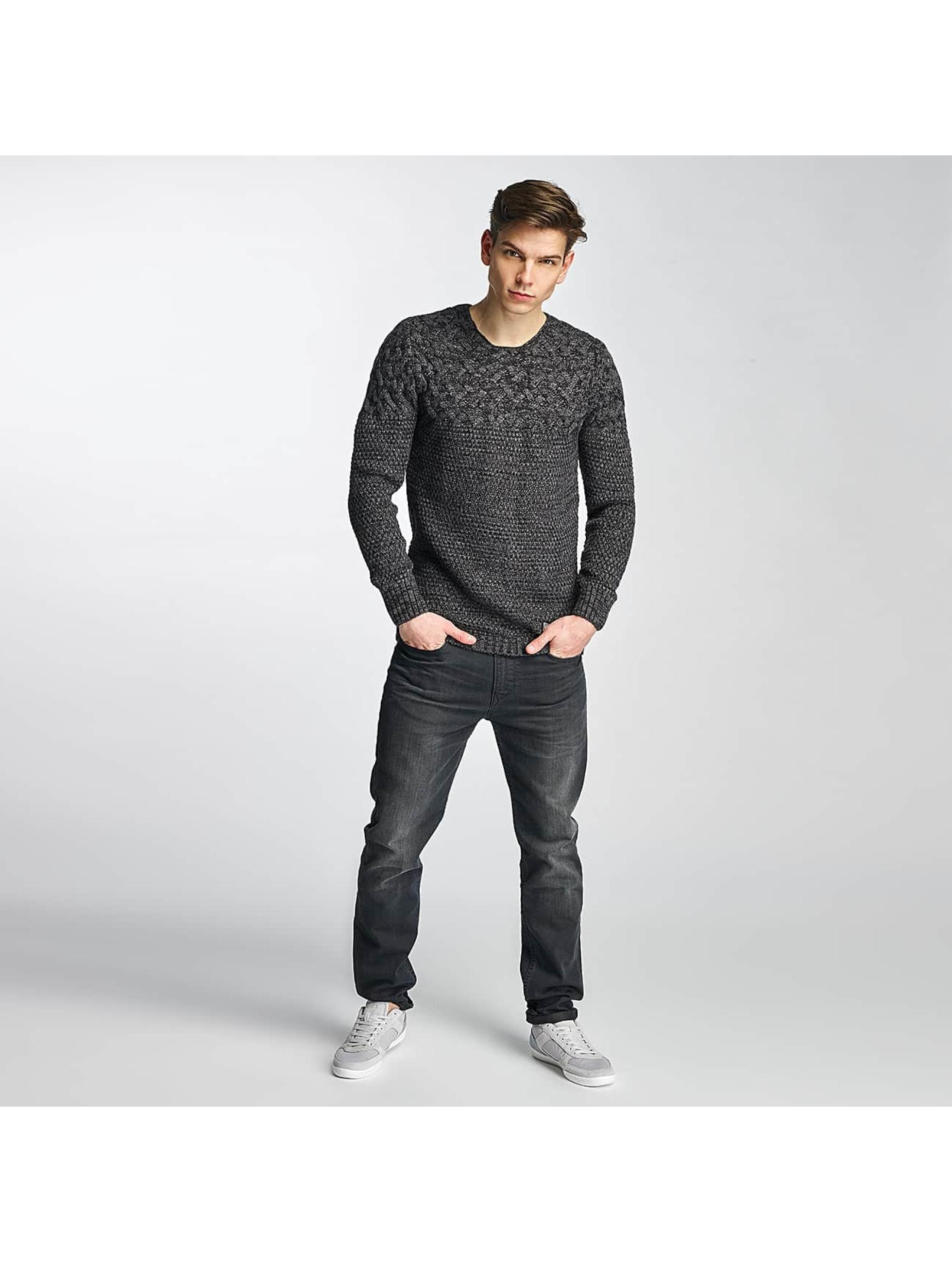 Cipo & Baxx Pullover Adisa grau