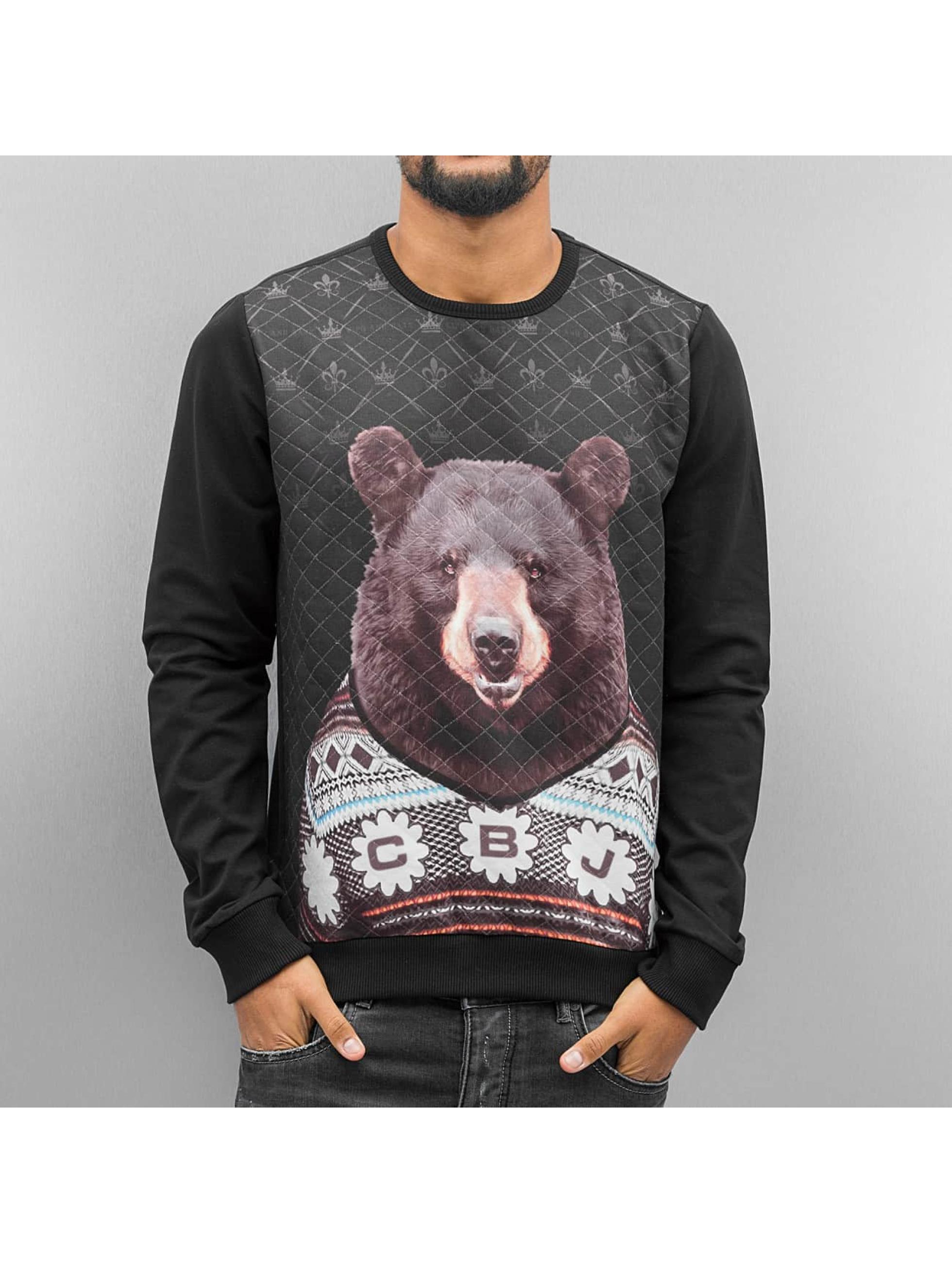 Cipo & Baxx Pullover Sweatshirt schwarz