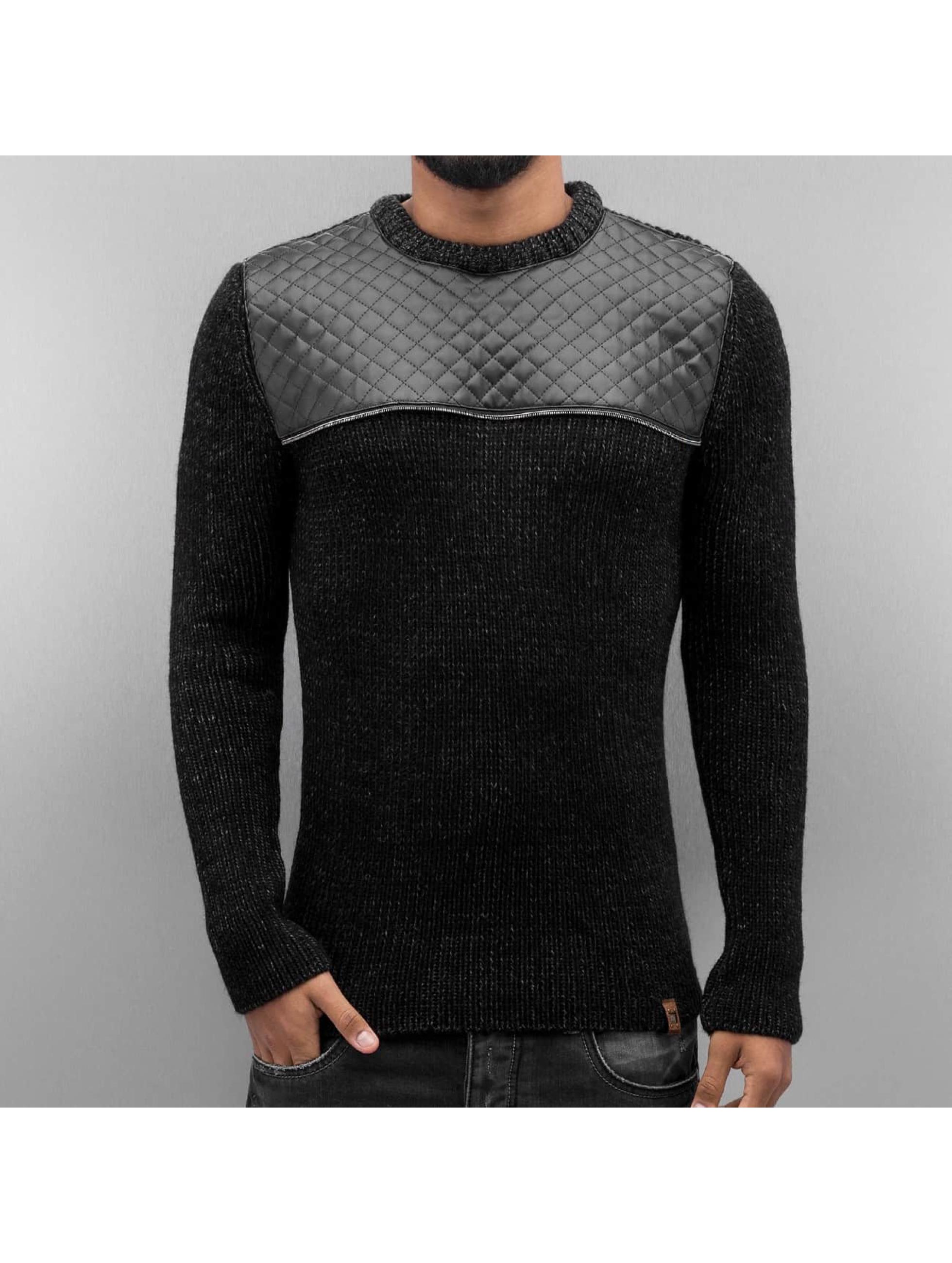 Cipo & Baxx Pullover Oley schwarz